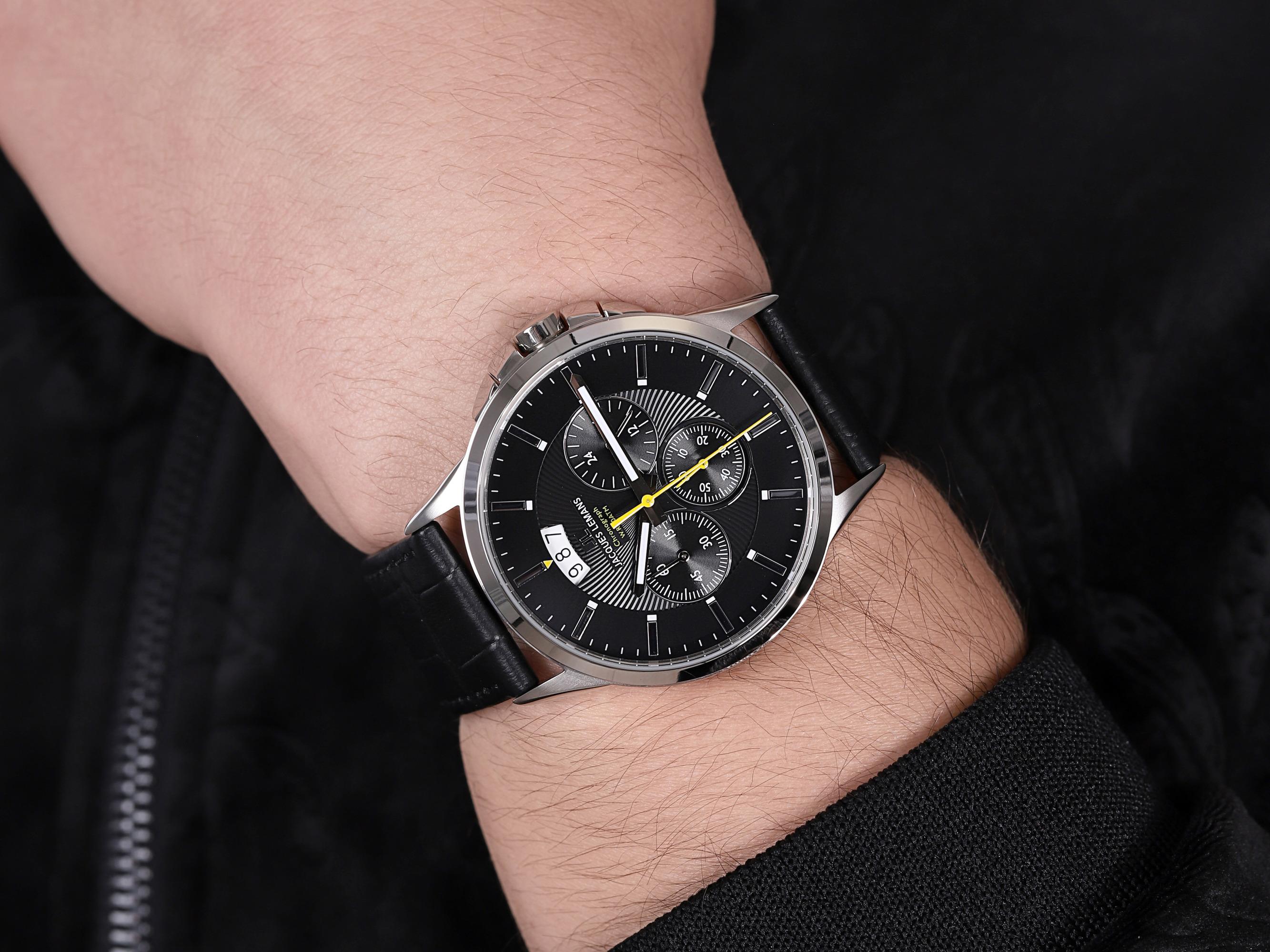Jacques Lemans 1-1542A zegarek męski Classic