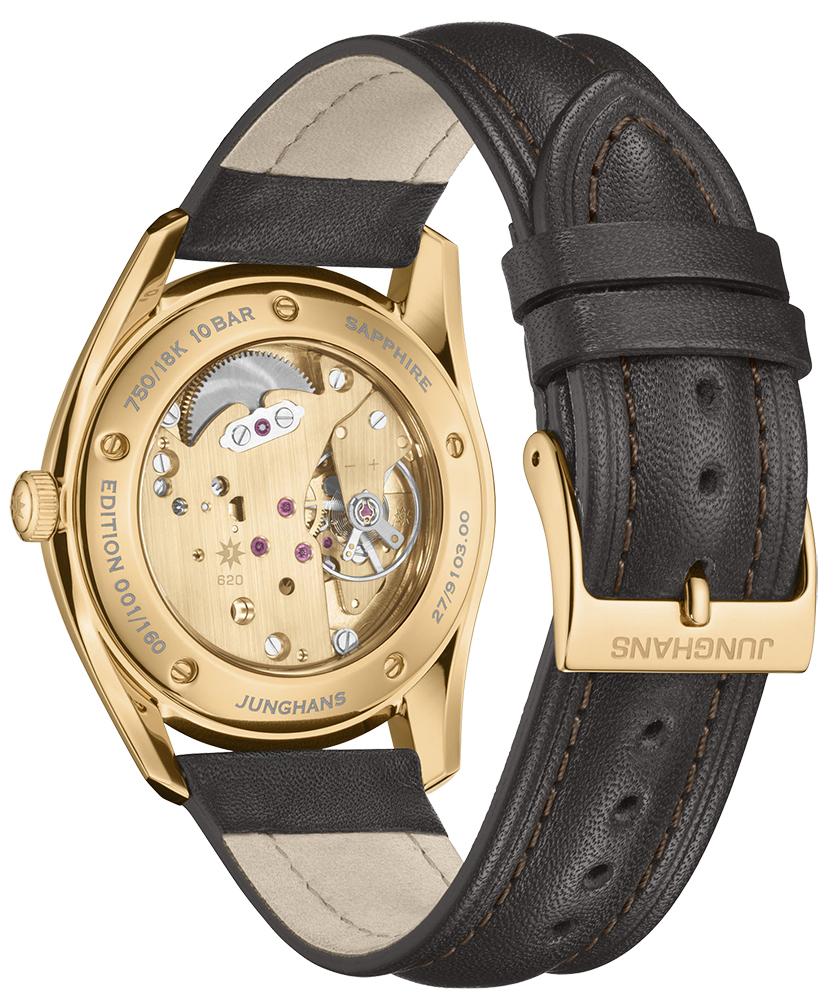 Junghans 27/9103.00 Meister Signatur Handaufzug Edition 160 zegarek Meister
