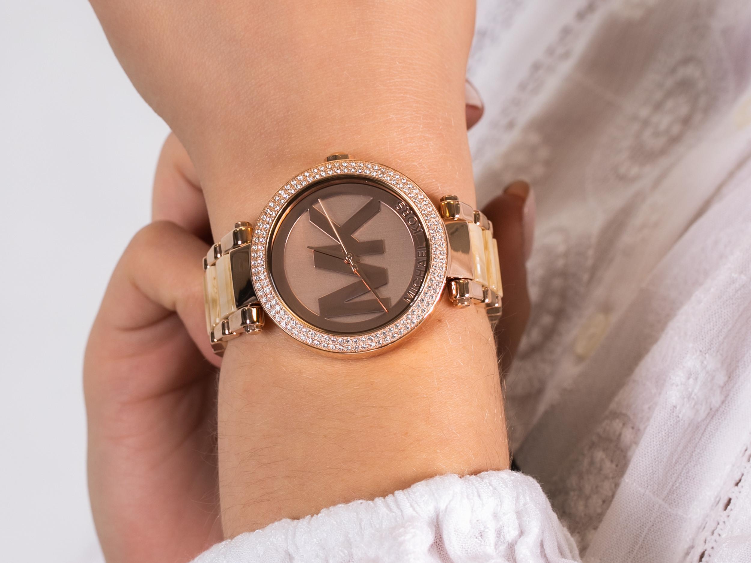 Michael Kors MK6530 PARKER zegarek klasyczny Parker