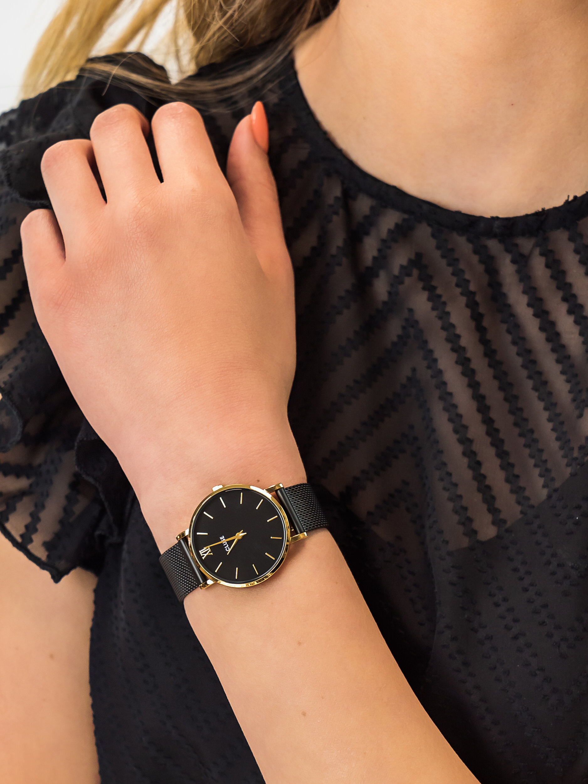 Cluse CW0101203009 damski zegarek Minuit bransoleta