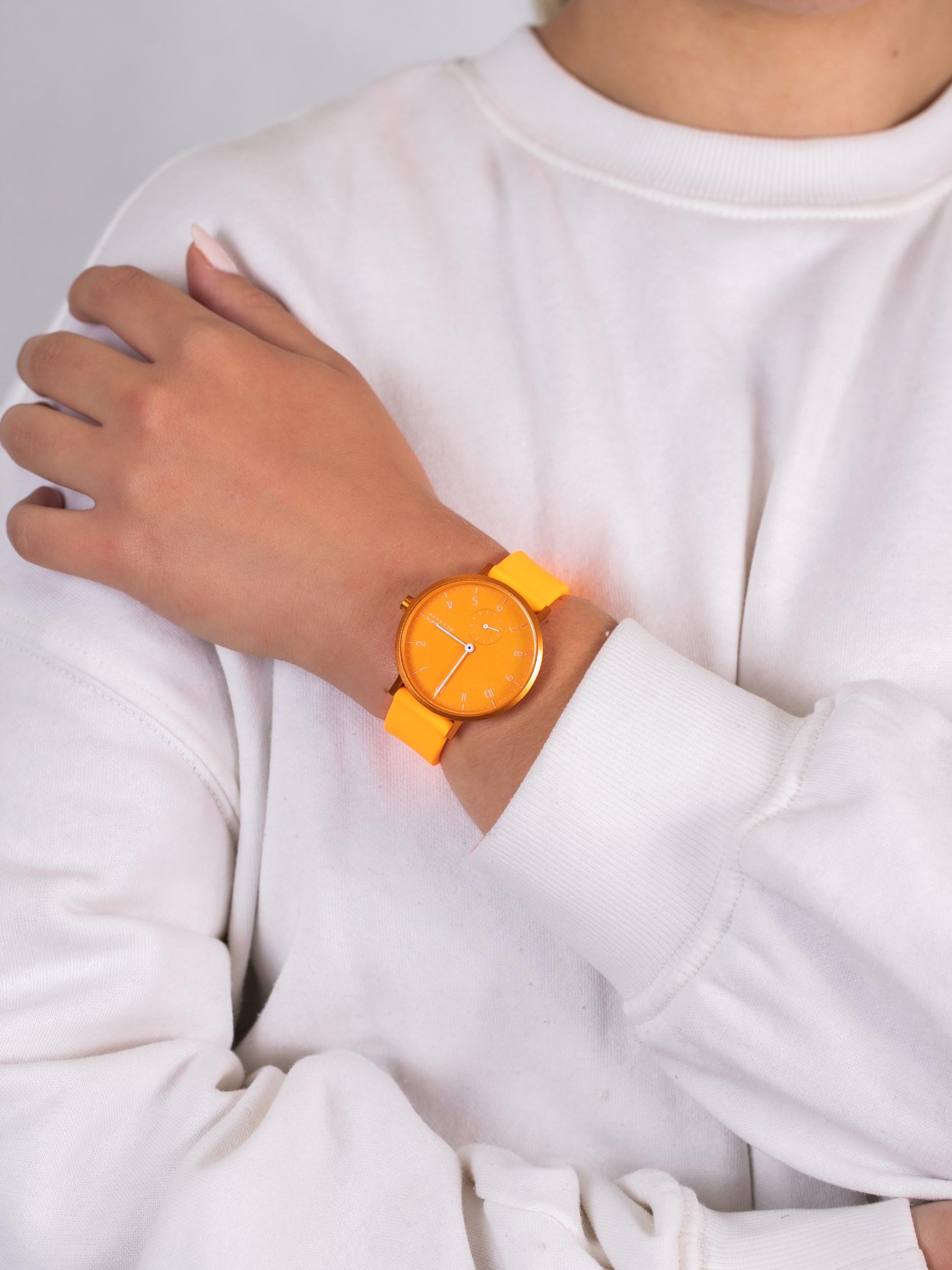 Skagen SKW2821 damski zegarek Aaren pasek