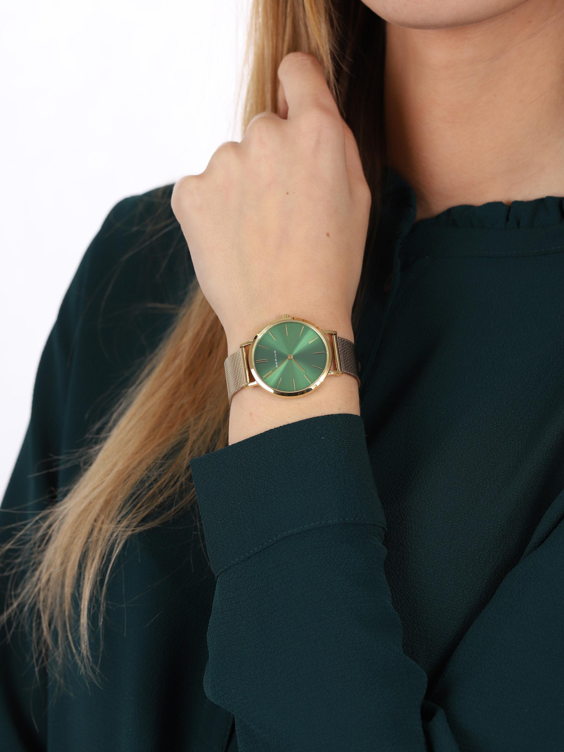 Bering 14134-338 damski zegarek Classic bransoleta