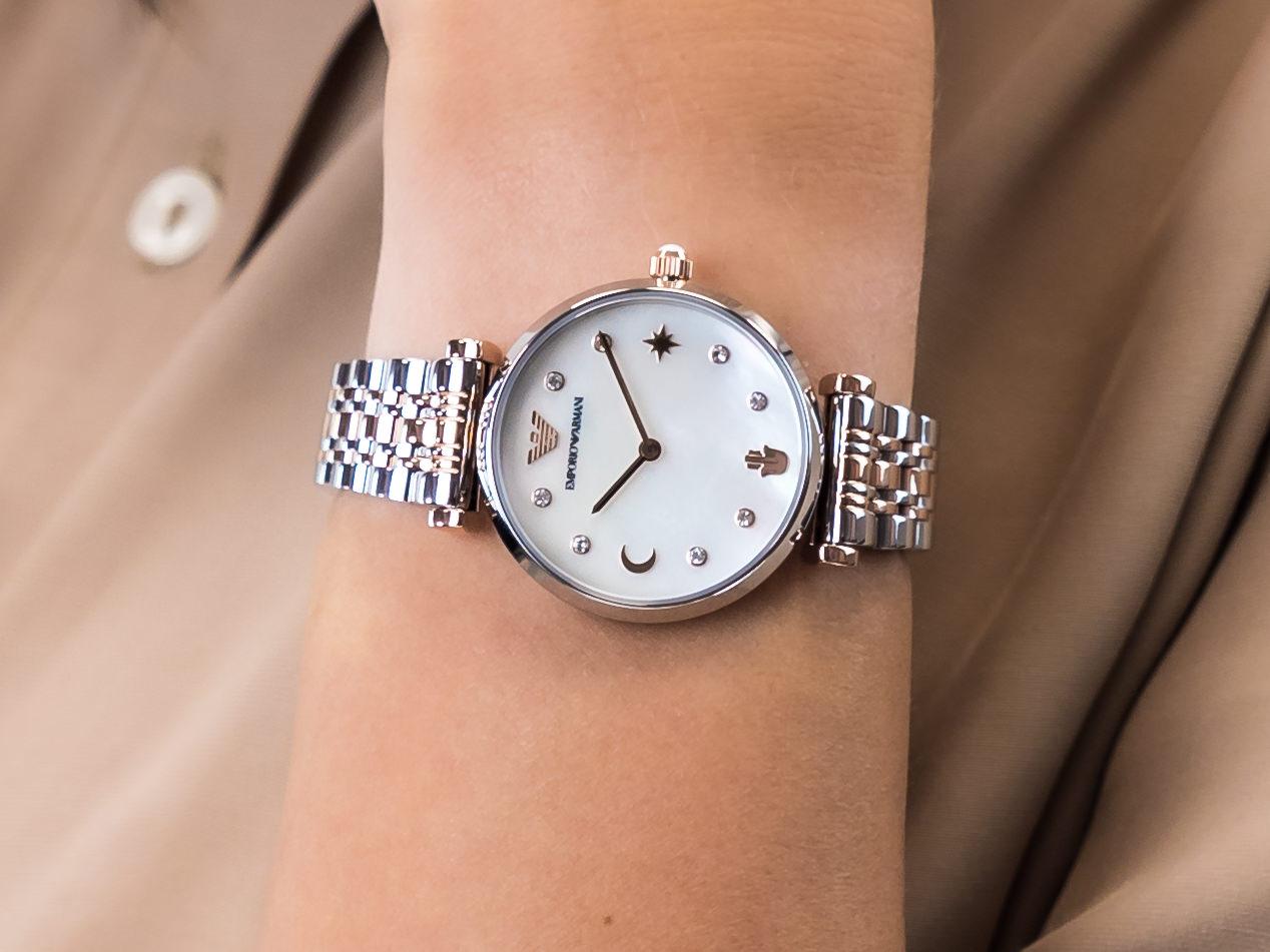Emporio Armani AR80037 zegarek klasyczny Ladies