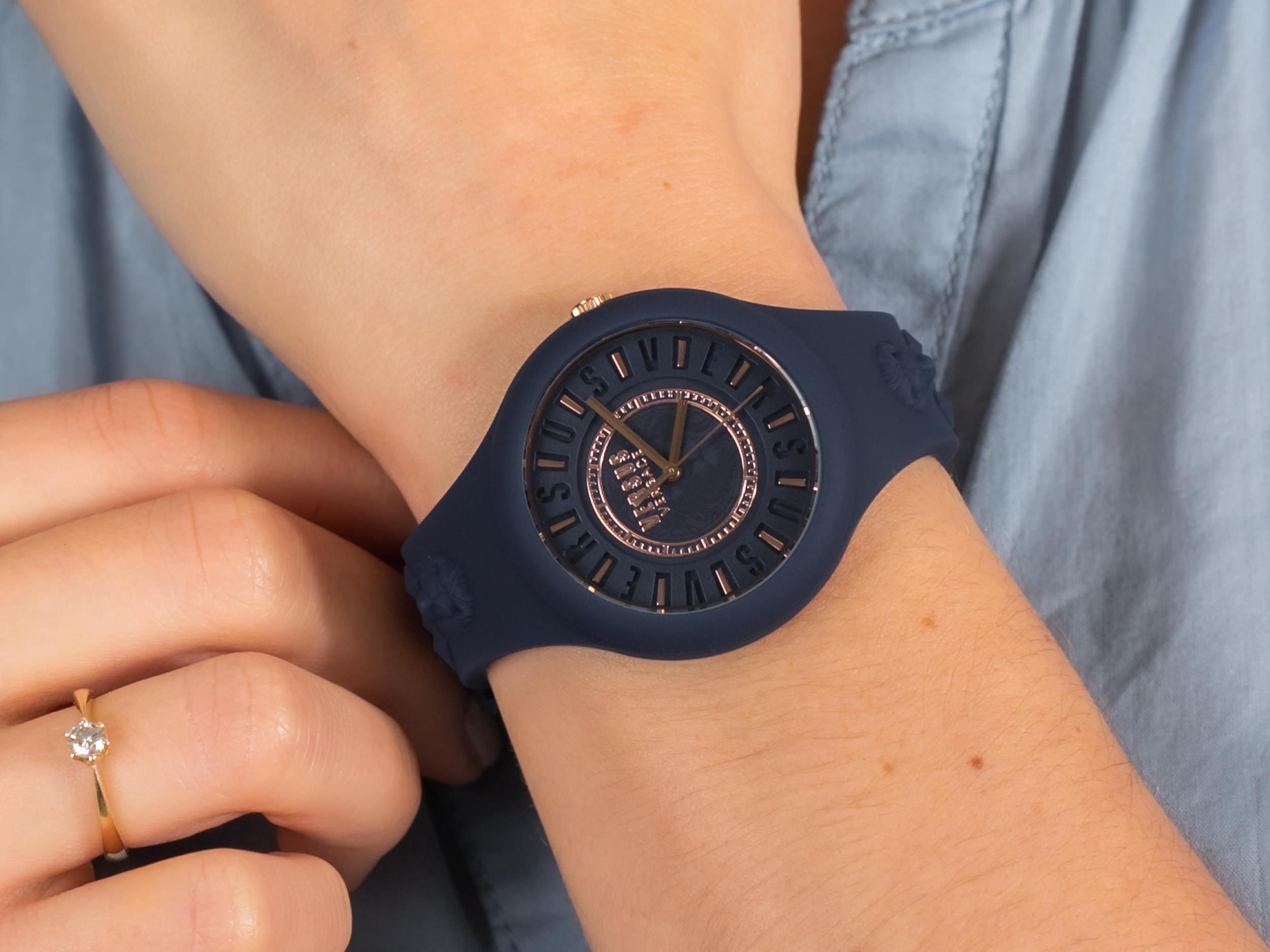 Versus Versace VSPOQ4019 zegarek fashion/modowy Damskie