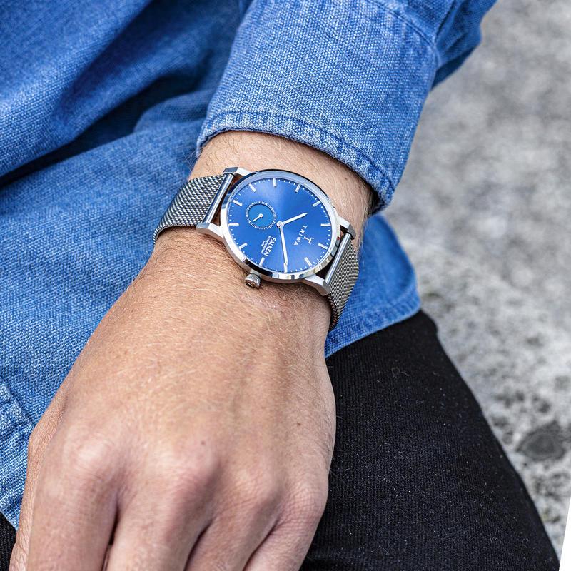 zegarek Triwa FAST121-ME021212 srebrny Falken