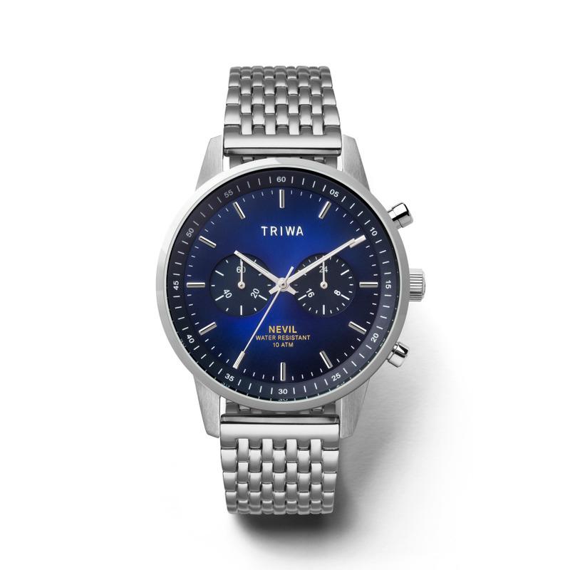 Triwa NEST130-BR021212 zegarek srebrny klasyczny Nevil bransoleta