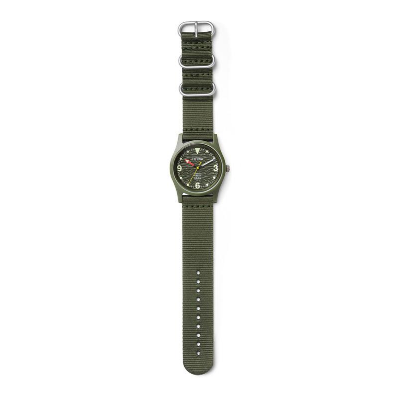 zegarek Triwa TFO101-CL150912 kwarcowy męski Ocean Plastic OCEAN PLASTIC - SEAWEED