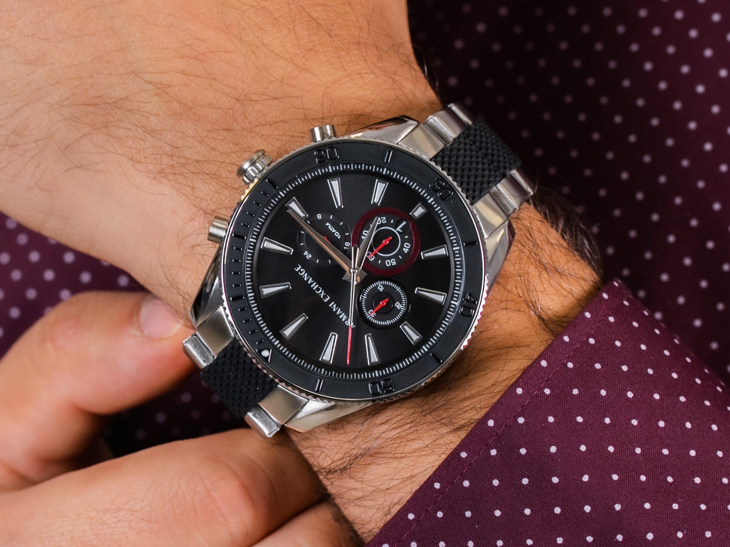 Armani Exchange AX1813 zegarek sportowy Fashion