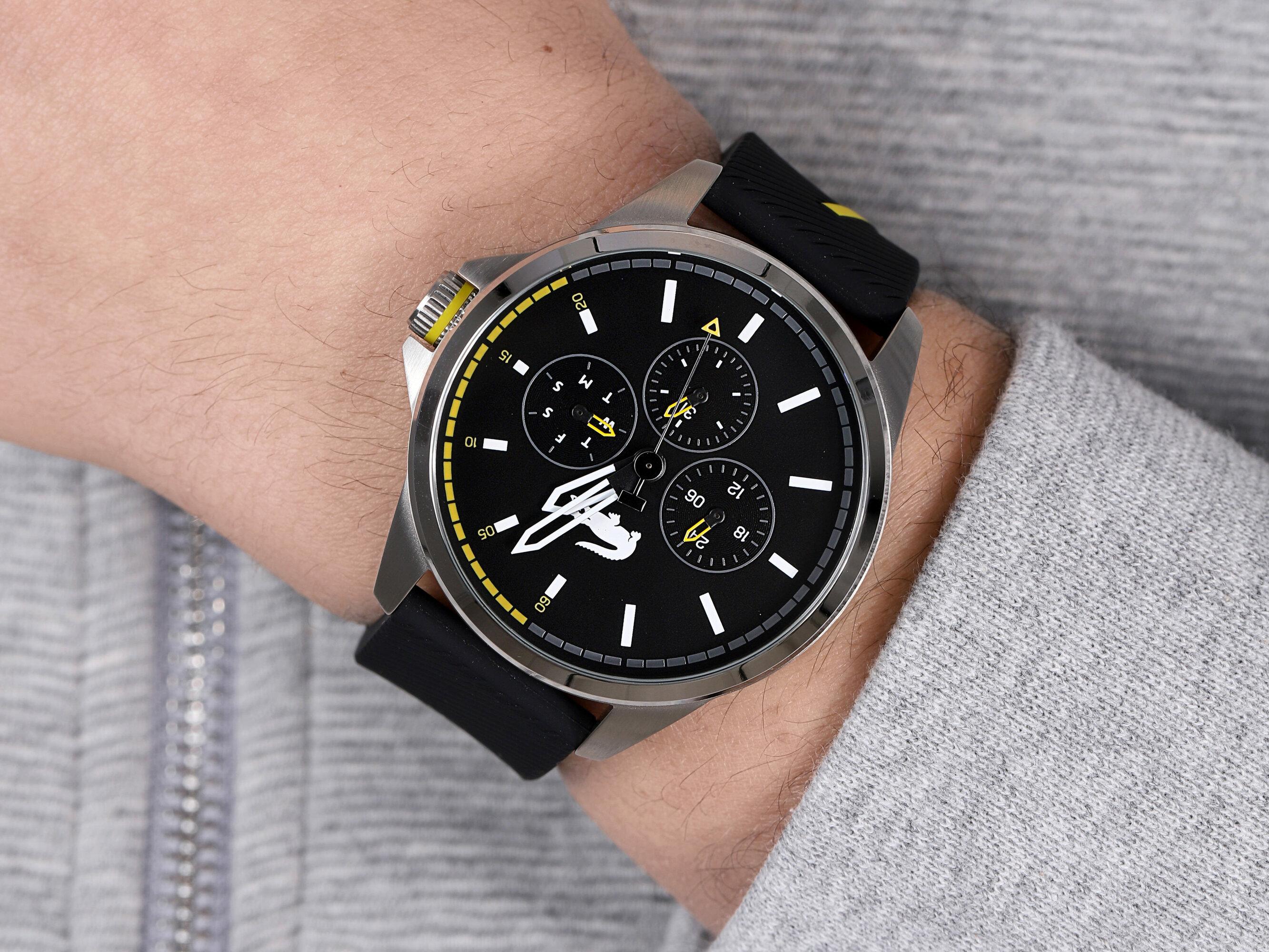 Lacoste 2010978 zegarek męski Męskie