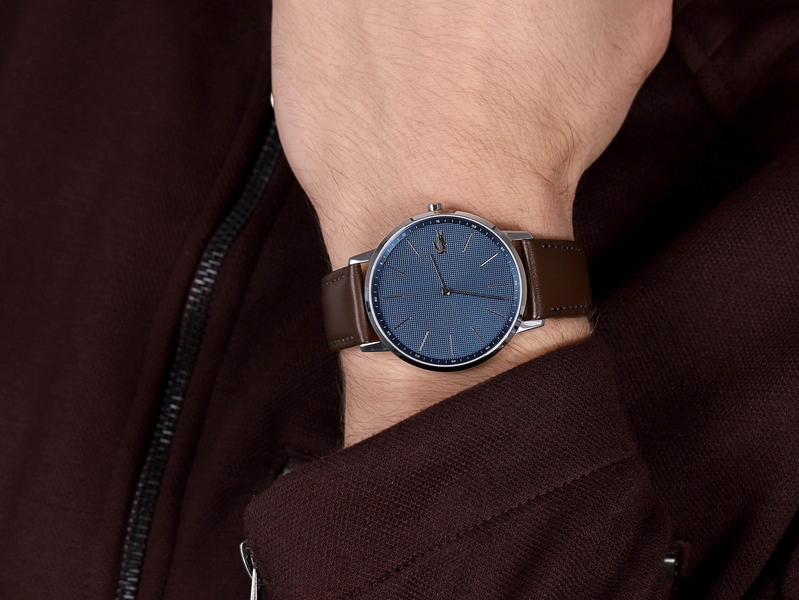 Lacoste 2011003 męski zegarek Męskie pasek