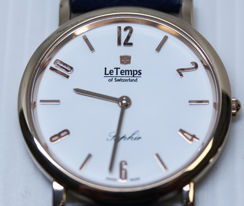 Le Temps LT1085.51BL43-POWYSTAWOWY damski zegarek Zafira pasek