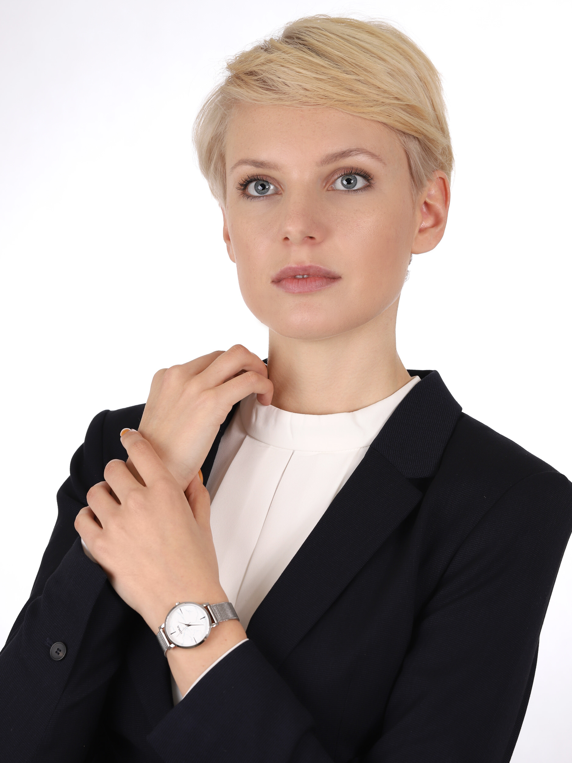 Lorus RG239SX9 zegarek srebrny klasyczny Fashion bransoleta