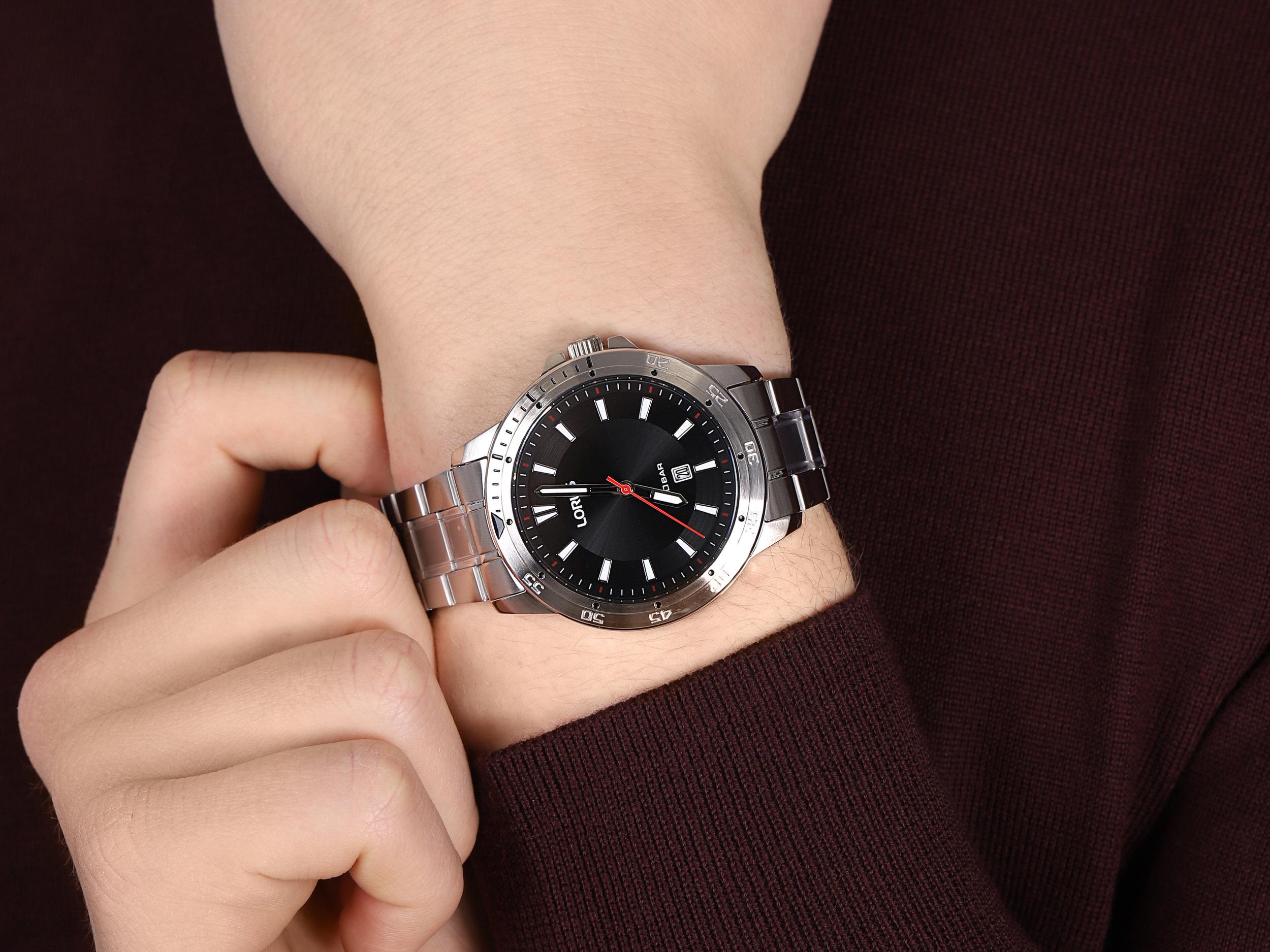 Lorus RH945MX9 męski zegarek Klasyczne bransoleta