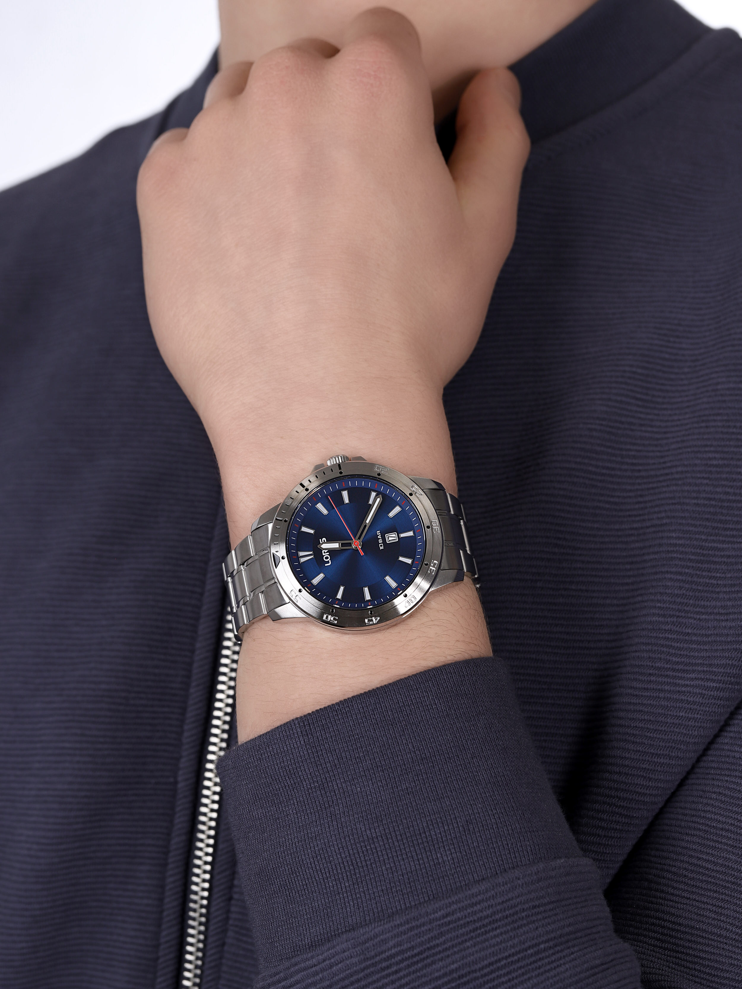 Lorus RH947MX9 męski zegarek Klasyczne bransoleta