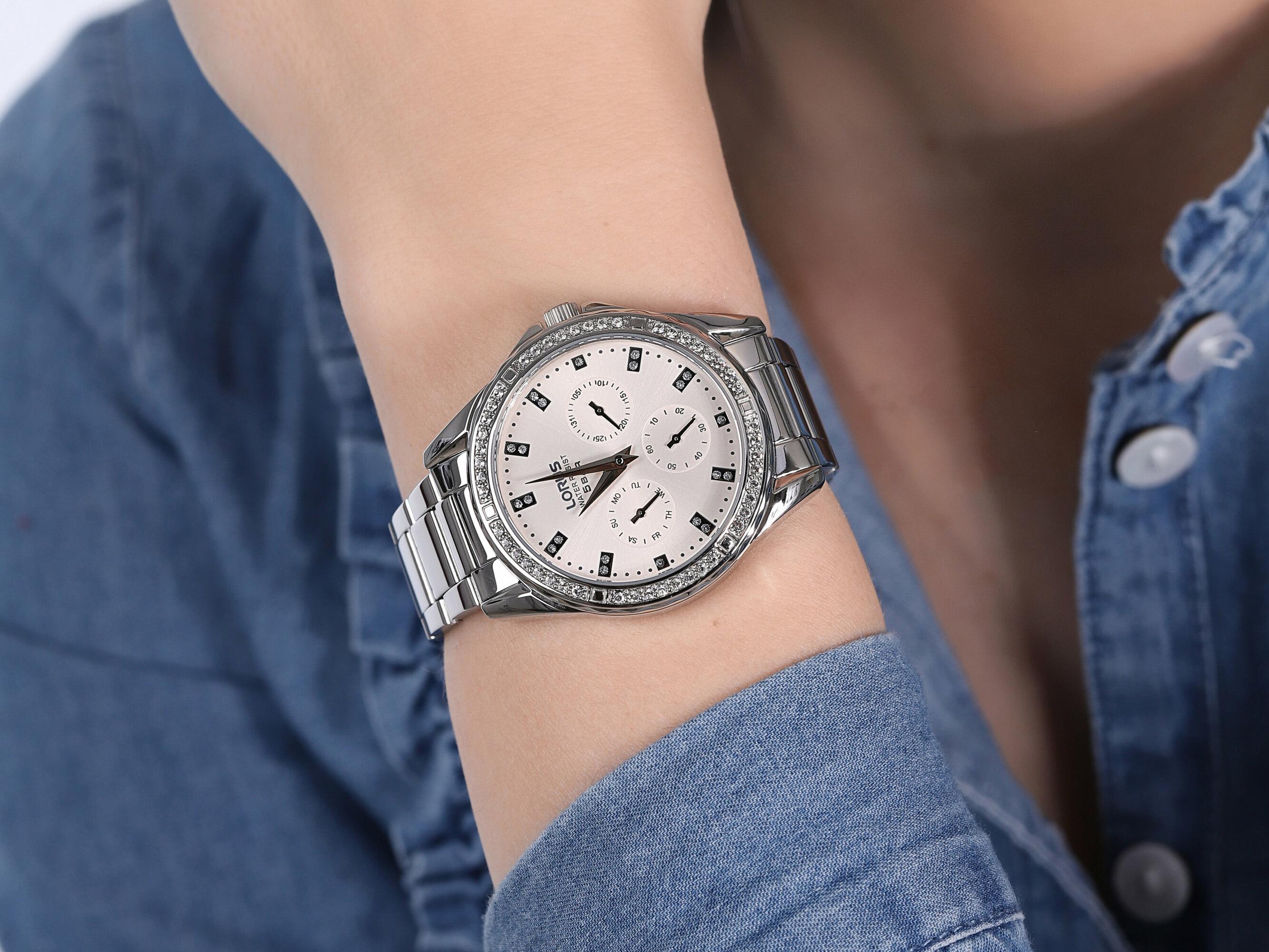 Lorus RP641DX9 Klasyczne klasyczny zegarek srebrny
