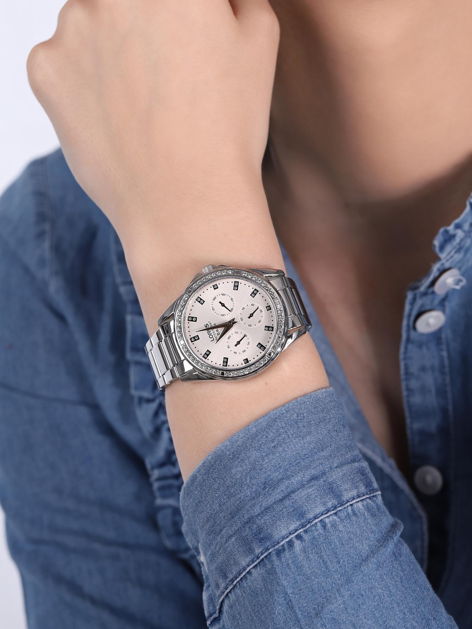 Lorus RP641DX9 zegarek damski klasyczny Klasyczne bransoleta