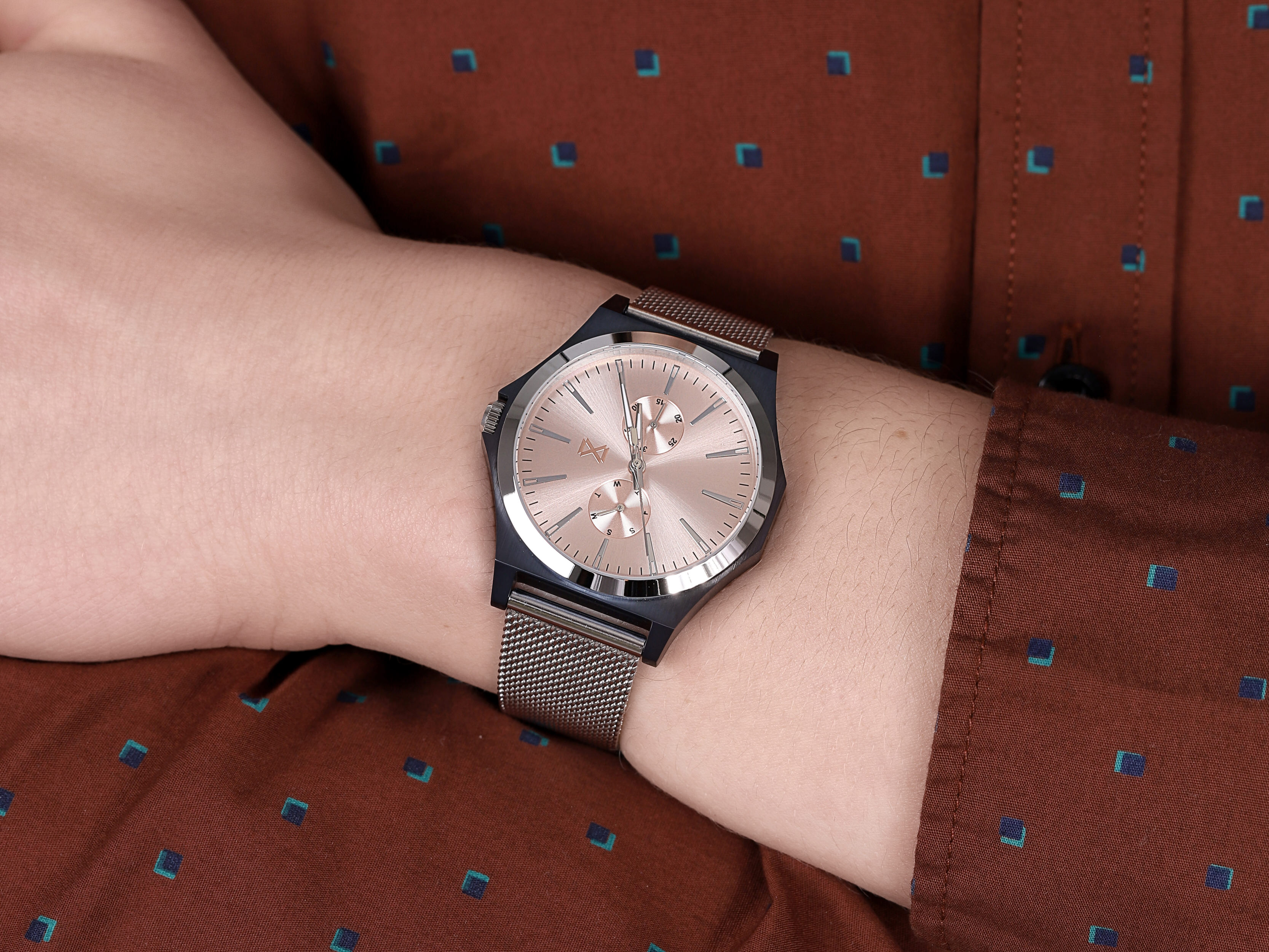 Mark Maddox HM7108-97 męski zegarek Marina bransoleta