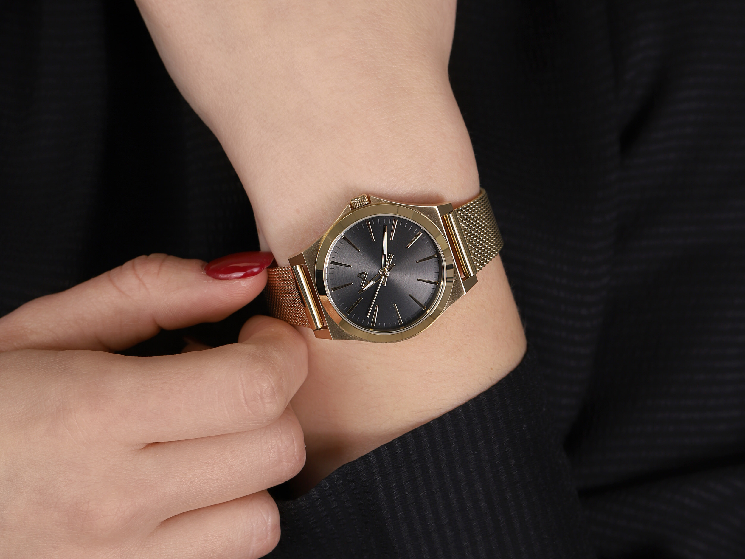 Mark Maddox MM7102-57 damski zegarek Marina bransoleta