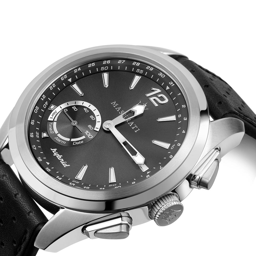 Maserati R8851112001 Traguardo smartwatch męski klasyczny mineralne