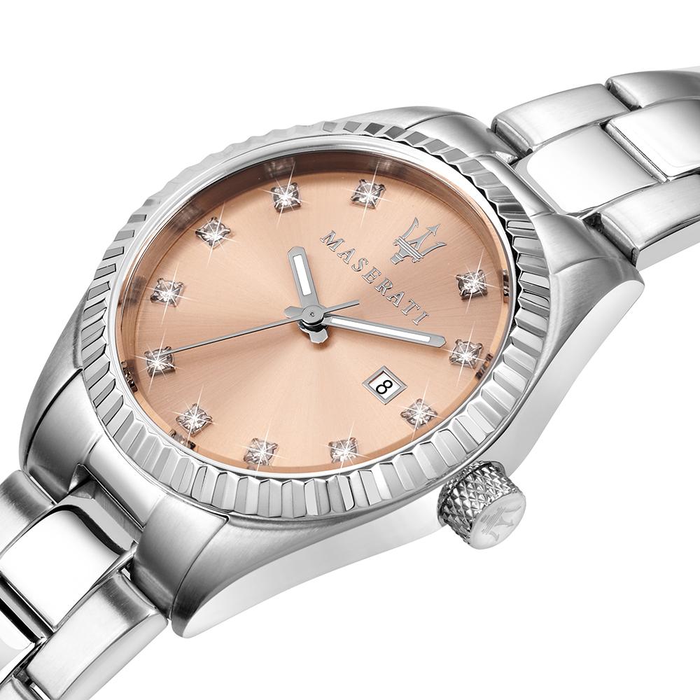 Maserati R8853100509 zegarek złoty klasyczny Competizione bransoleta