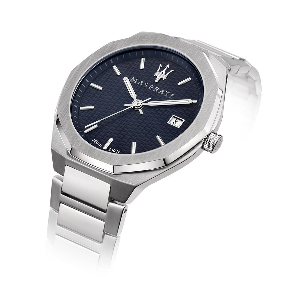 Maserati R8853142006 zegarek złoty klasyczny Stile bransoleta