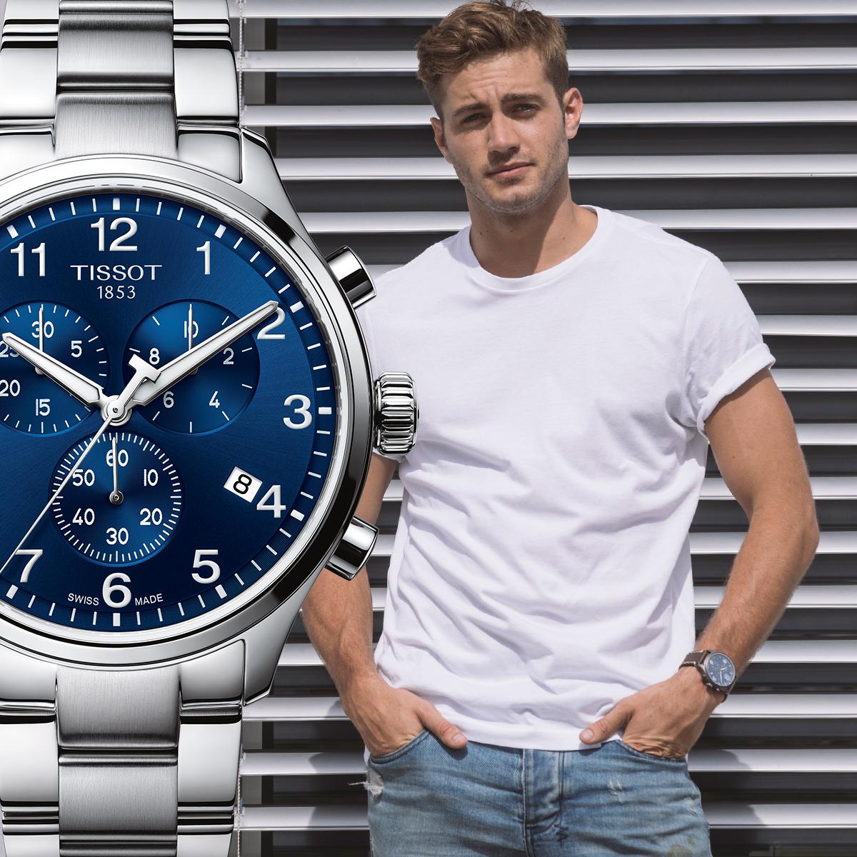 zegarek Tissot T116.617.11.047.01 kwarcowy męski Chrono XL CHRONO XL