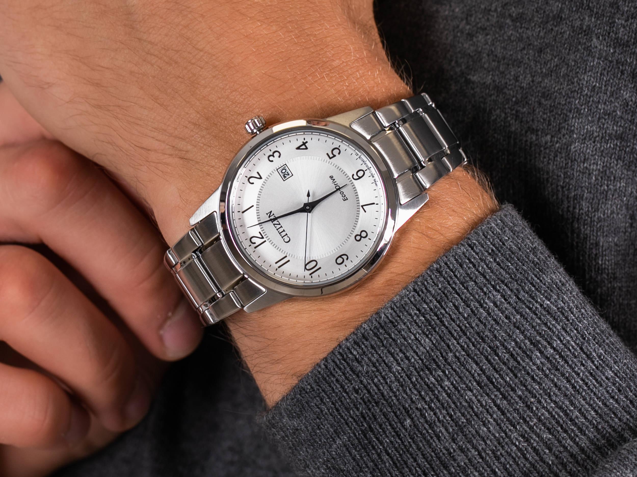 Citizen AW1231-58B zegarek klasyczny Ecodrive