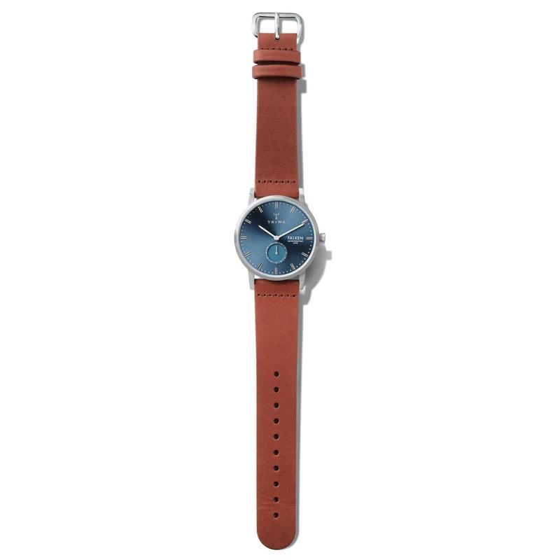 Triwa FAST121-CL010212 męski zegarek Falken pasek