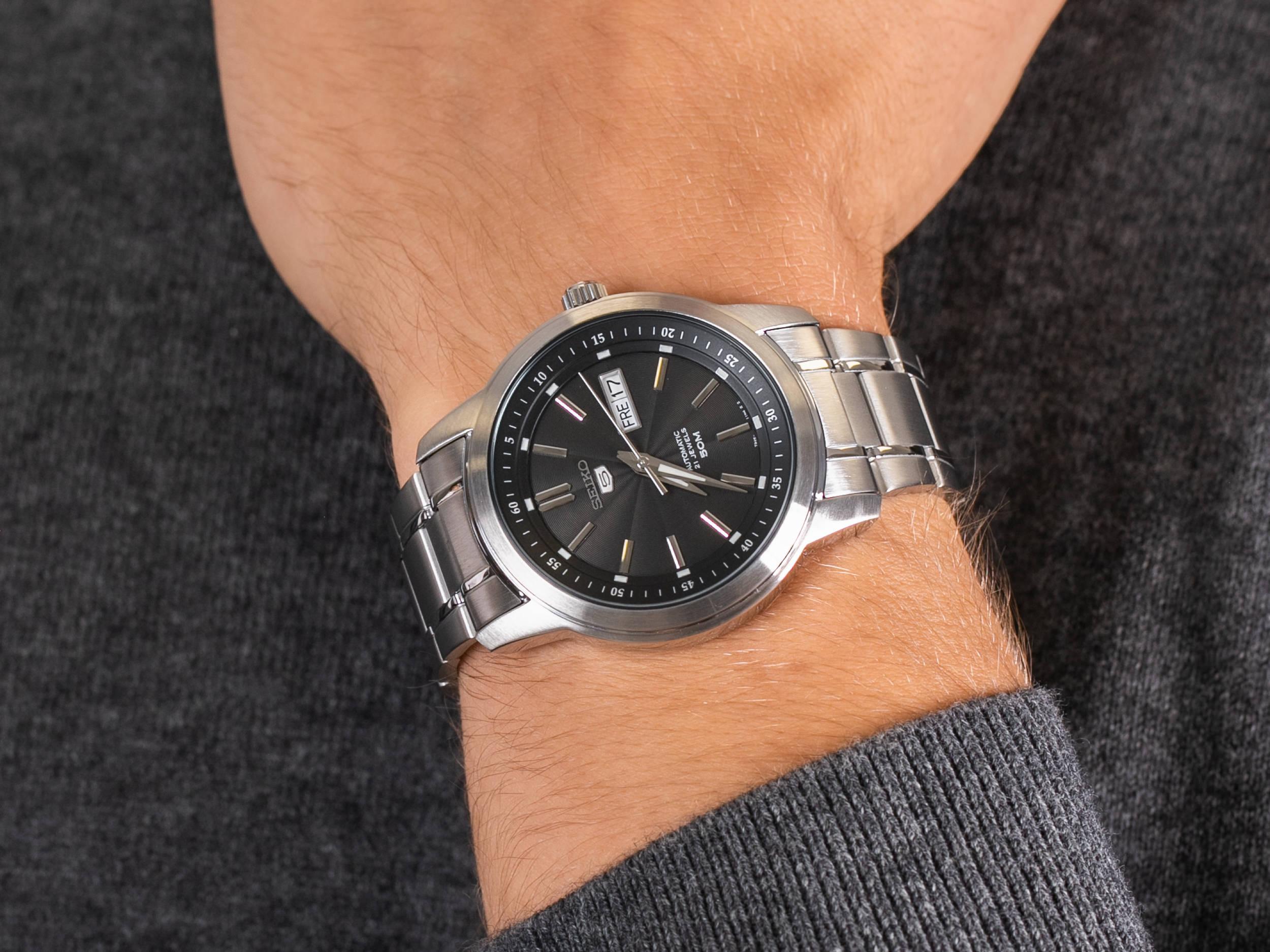 Seiko SNKM87K1 zegarek klasyczny Sports Automat