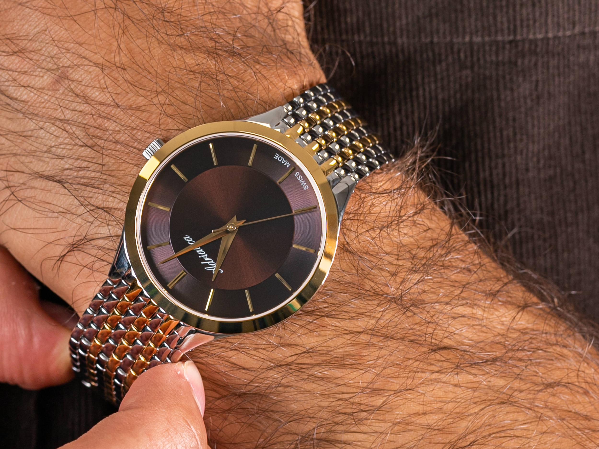 Adriatica A1276.211GQ Classic zegarek klasyczny Bransoleta
