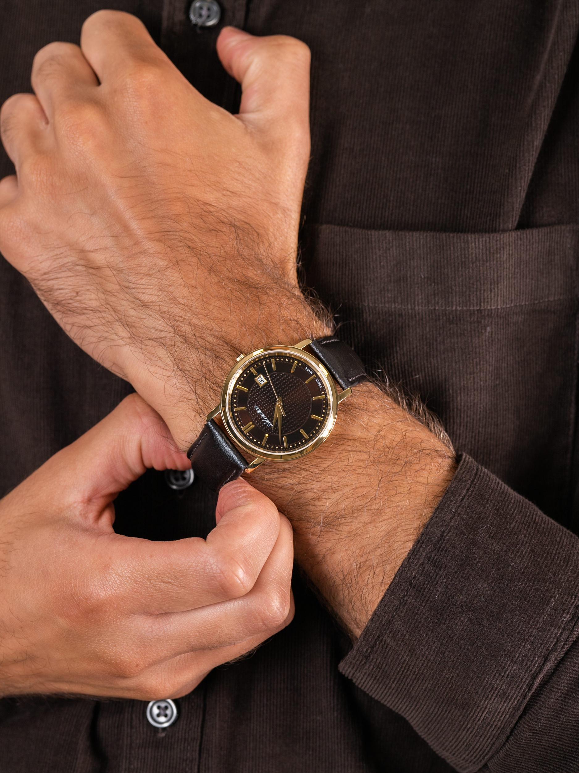 Adriatica A1277.121GQ męski zegarek Pasek pasek