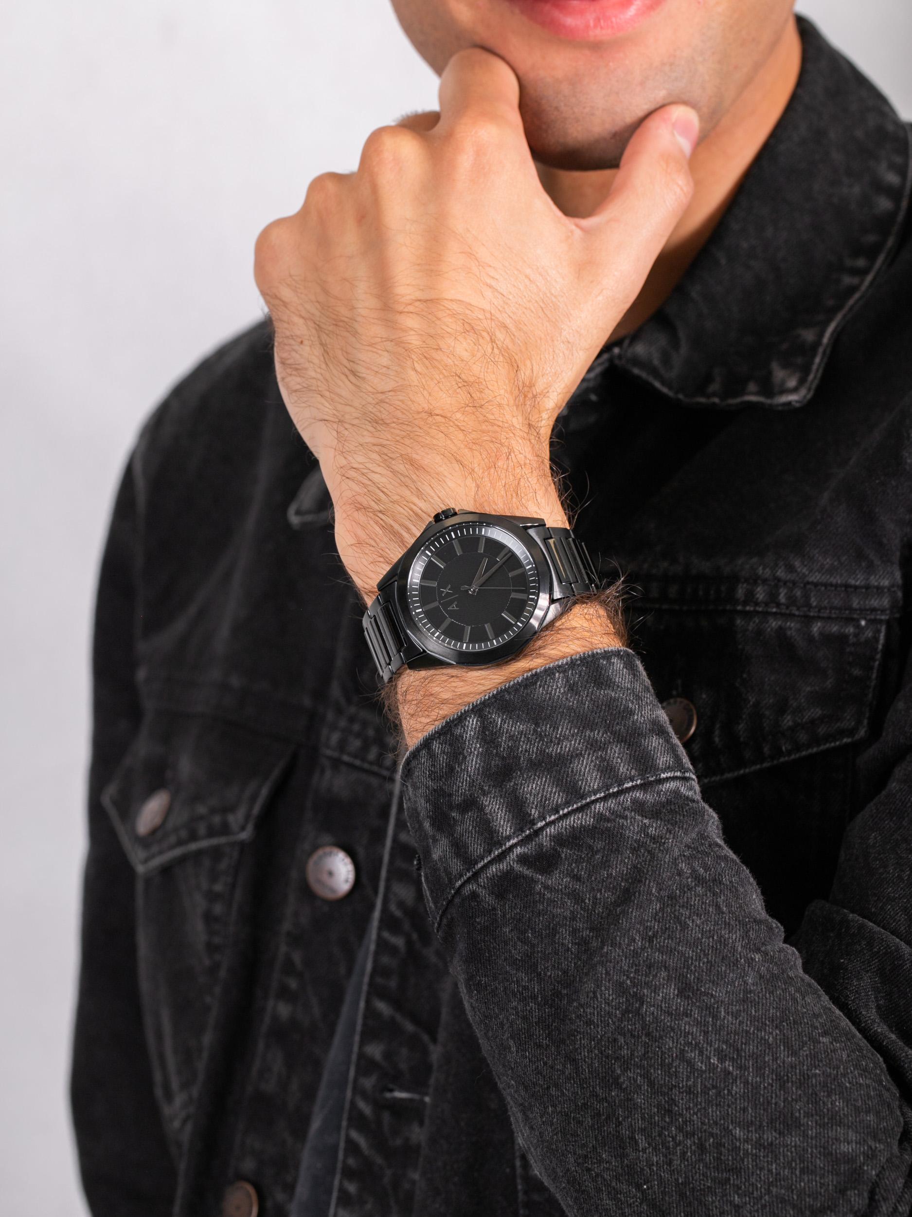 Armani Exchange AX2620 męski zegarek Fashion bransoleta