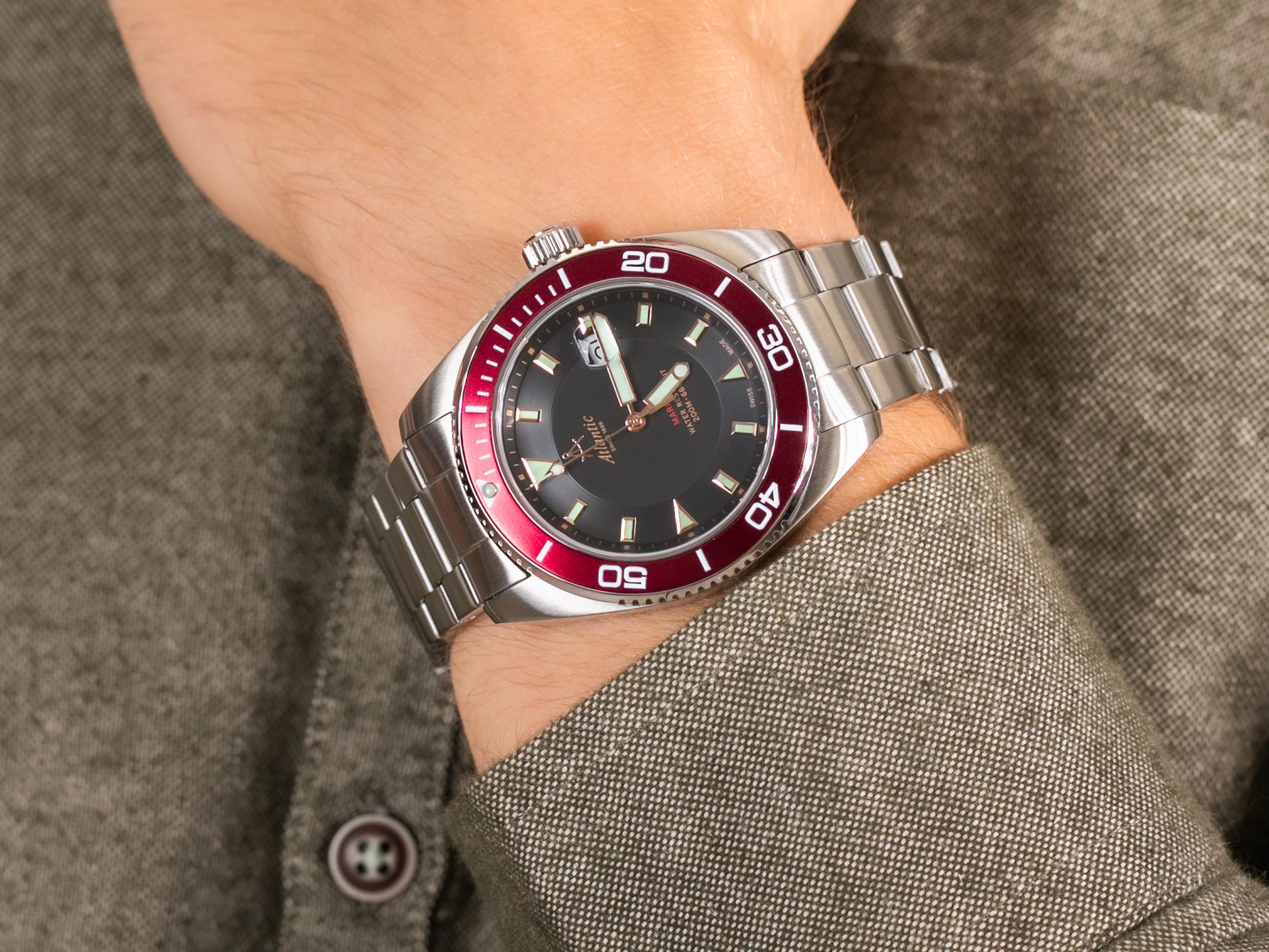 Atlantic 80378.41.61R zegarek klasyczny Mariner