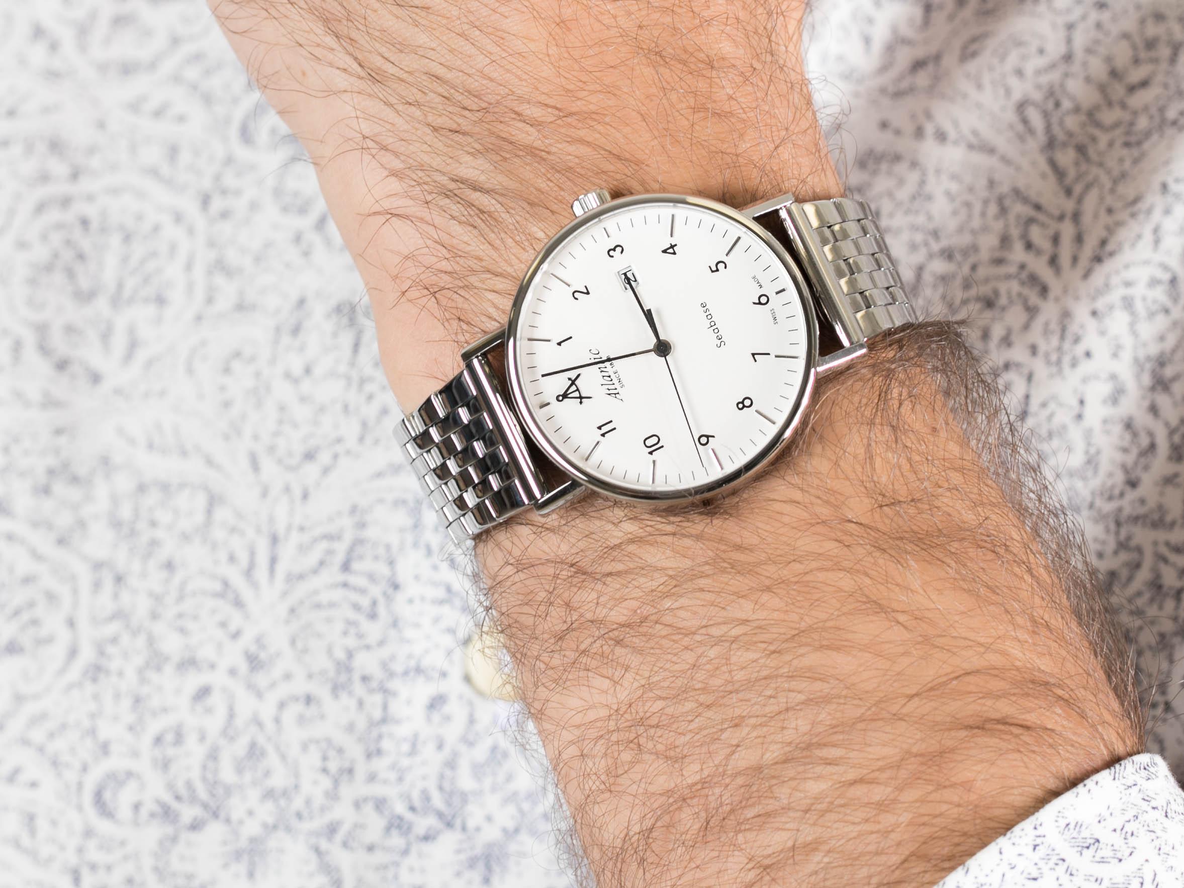 Atlantic 60357.41.25 zegarek klasyczny Seabase