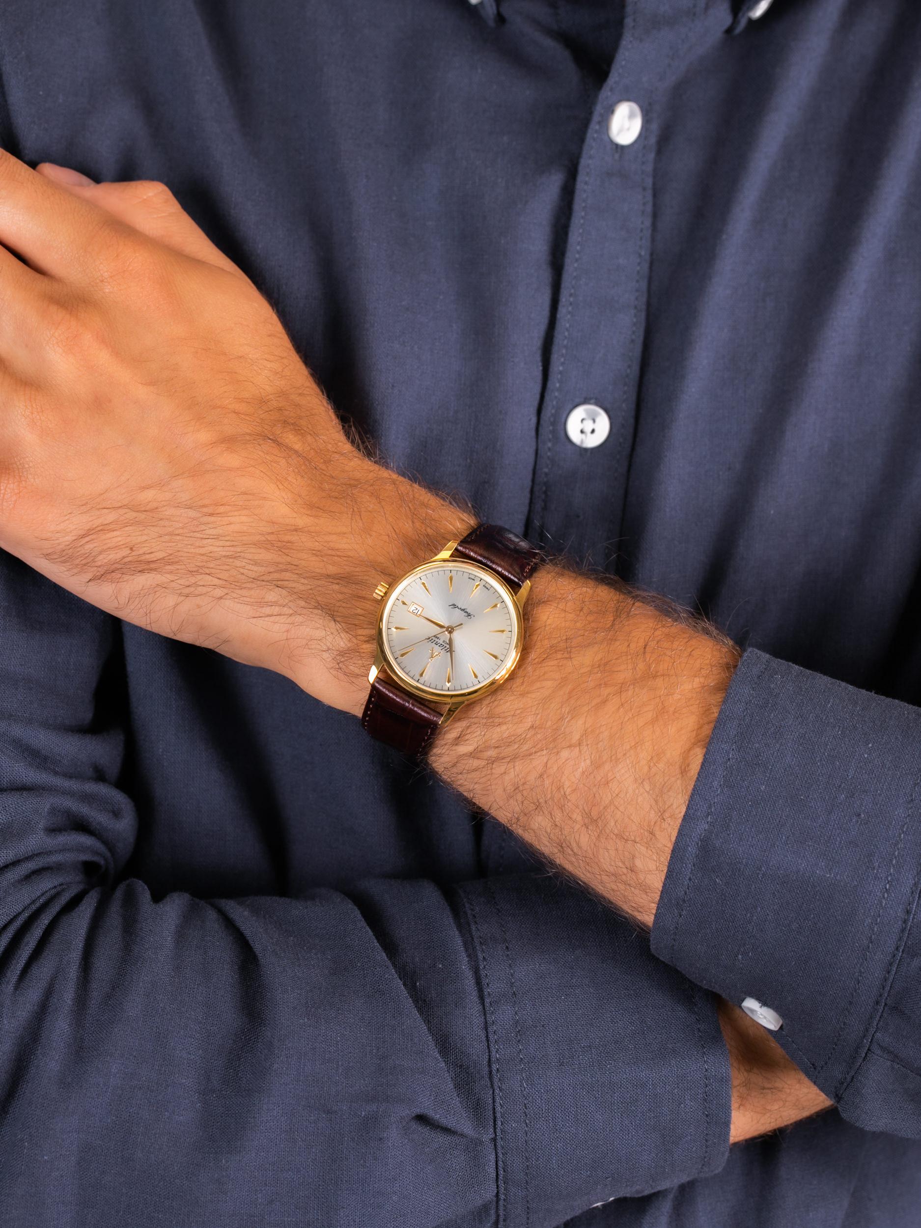 Atlantic 95343.65.21 męski zegarek Seagold pasek