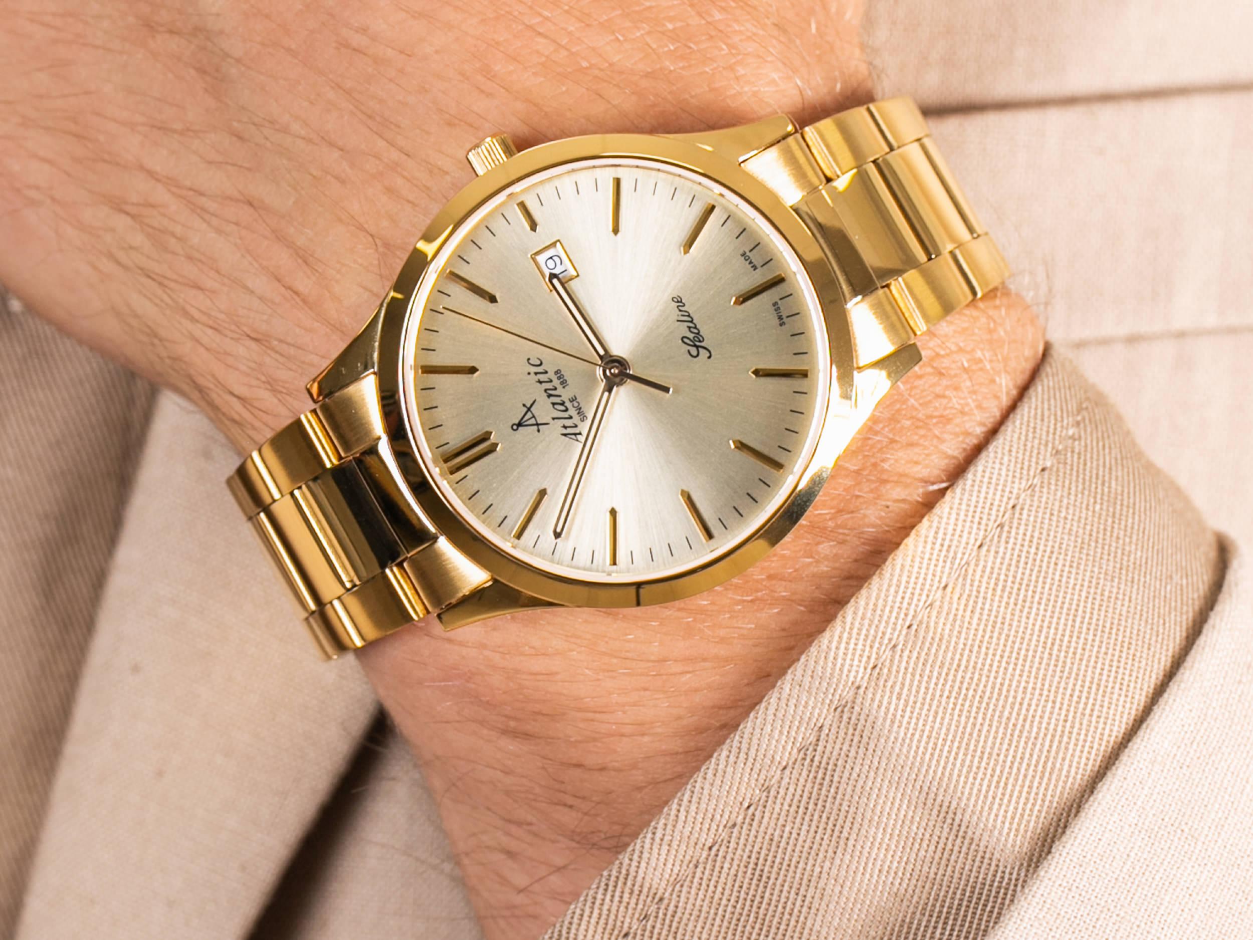 Atlantic 62346.45.31 zegarek elegancki Sealine