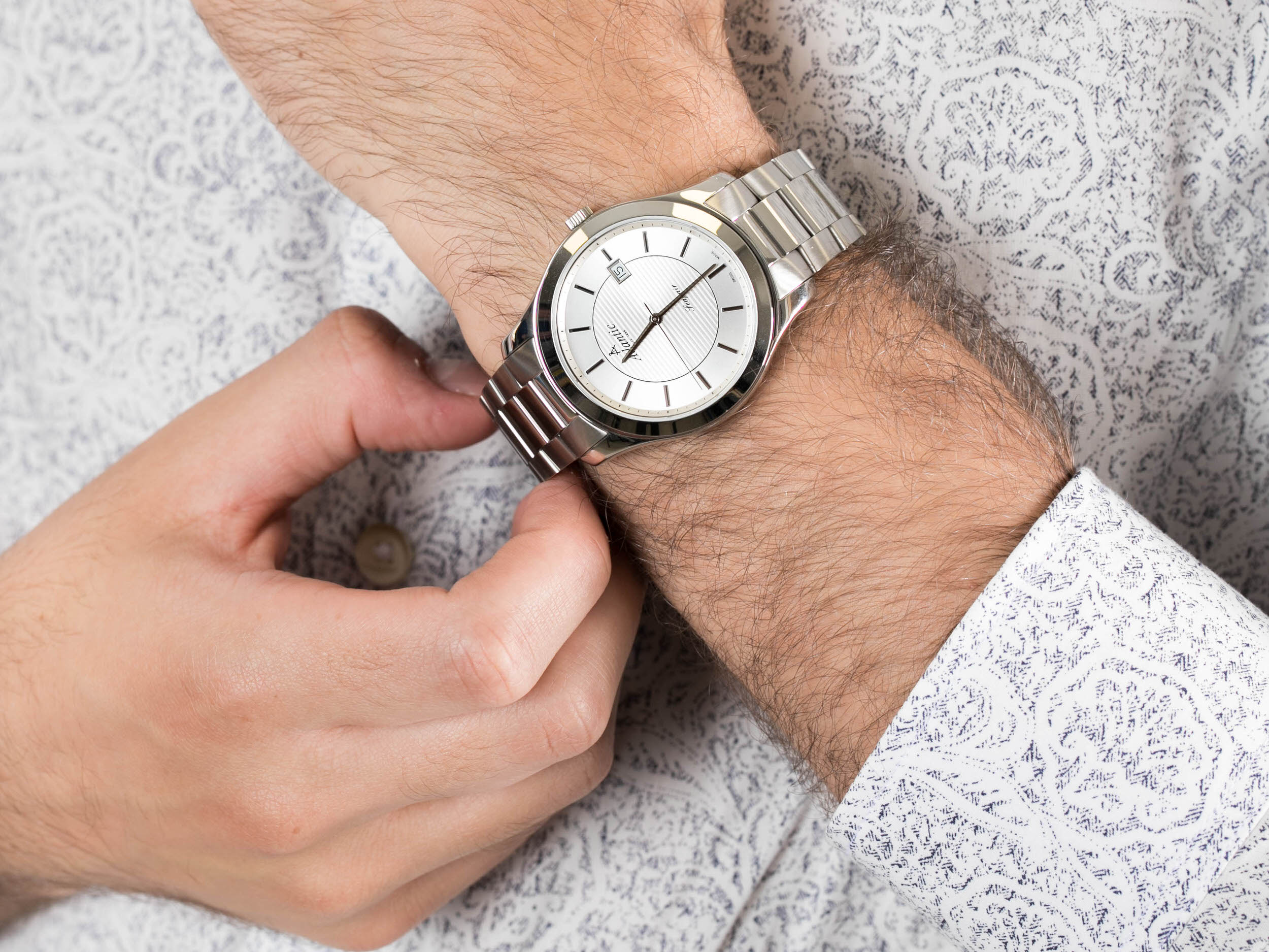 Atlantic 60335.41.21 zegarek klasyczny Seapair
