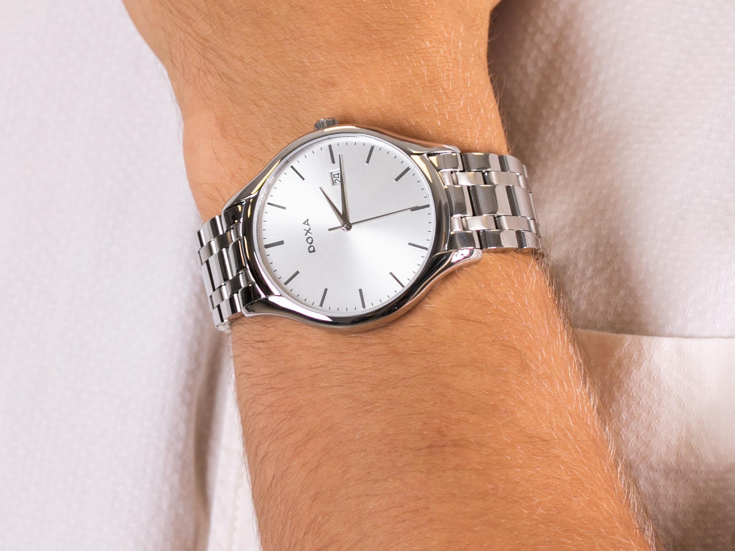 Doxa 215.10.021.10 zegarek klasyczny Challenge