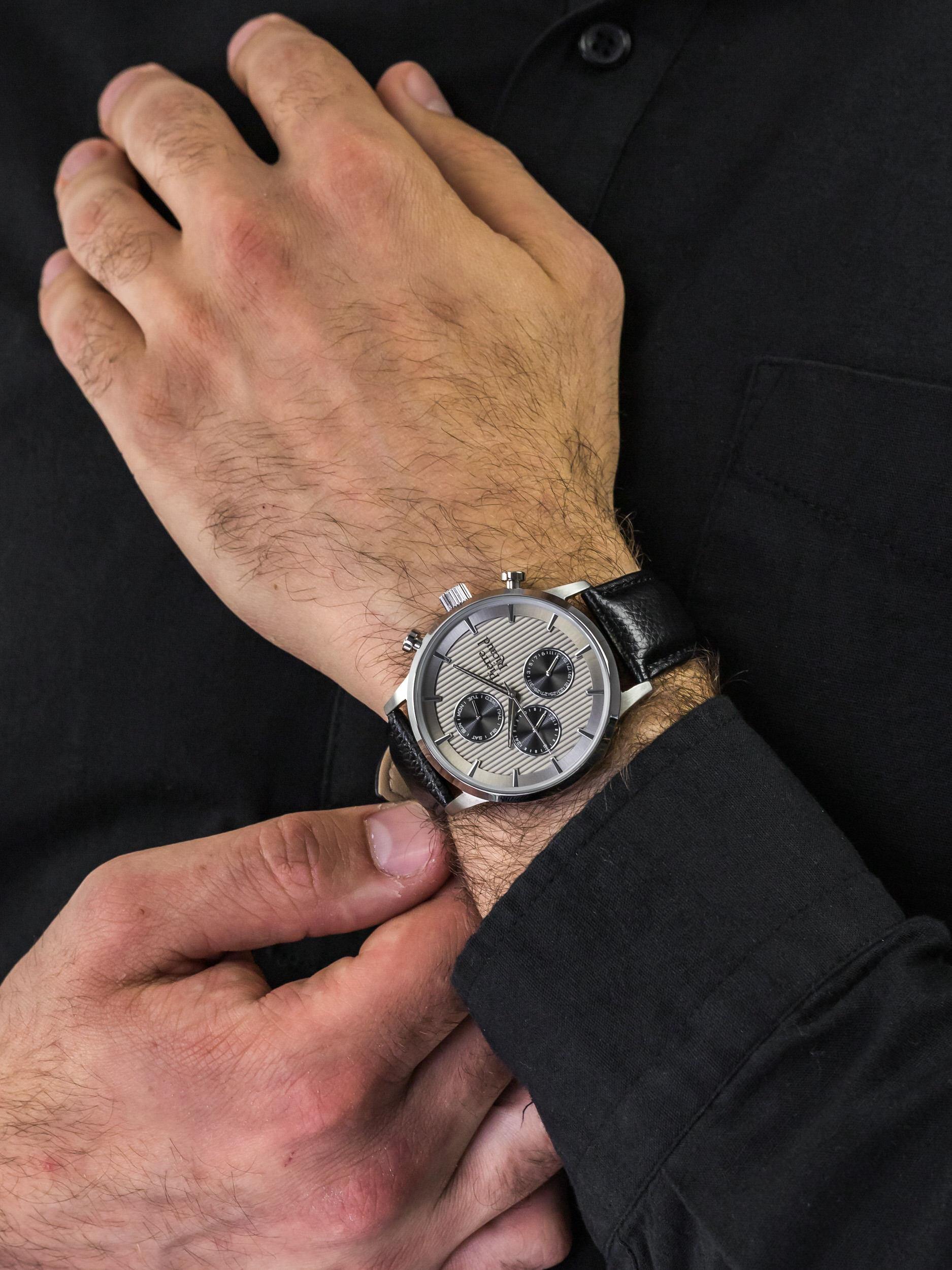 Pierre Ricaud P97230.5217QF męski zegarek Pasek pasek