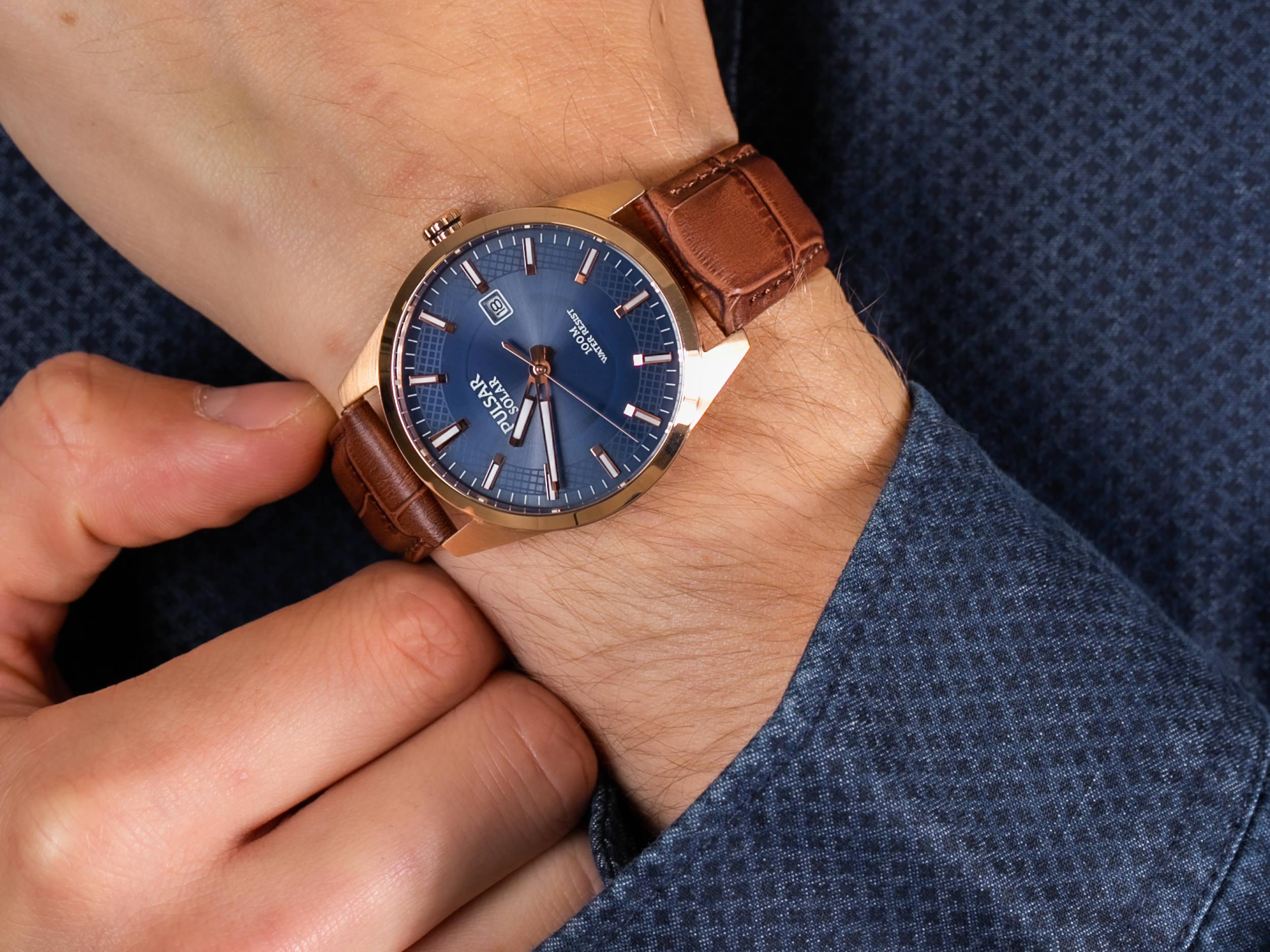 Pulsar PX3186X1 zegarek elegancki Klasyczne