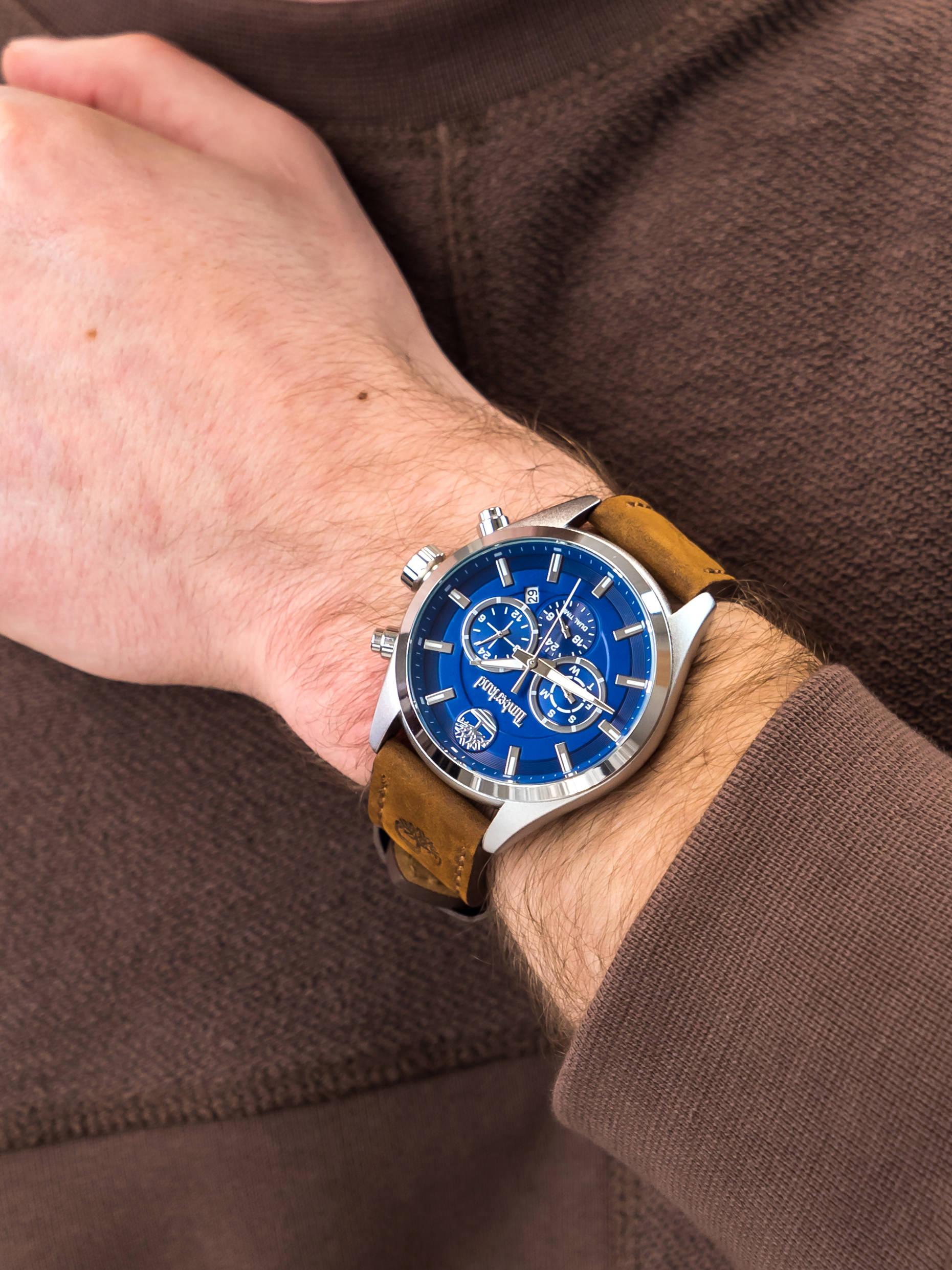 Timberland TBL.16062JYS-03 męski zegarek Ashmont pasek