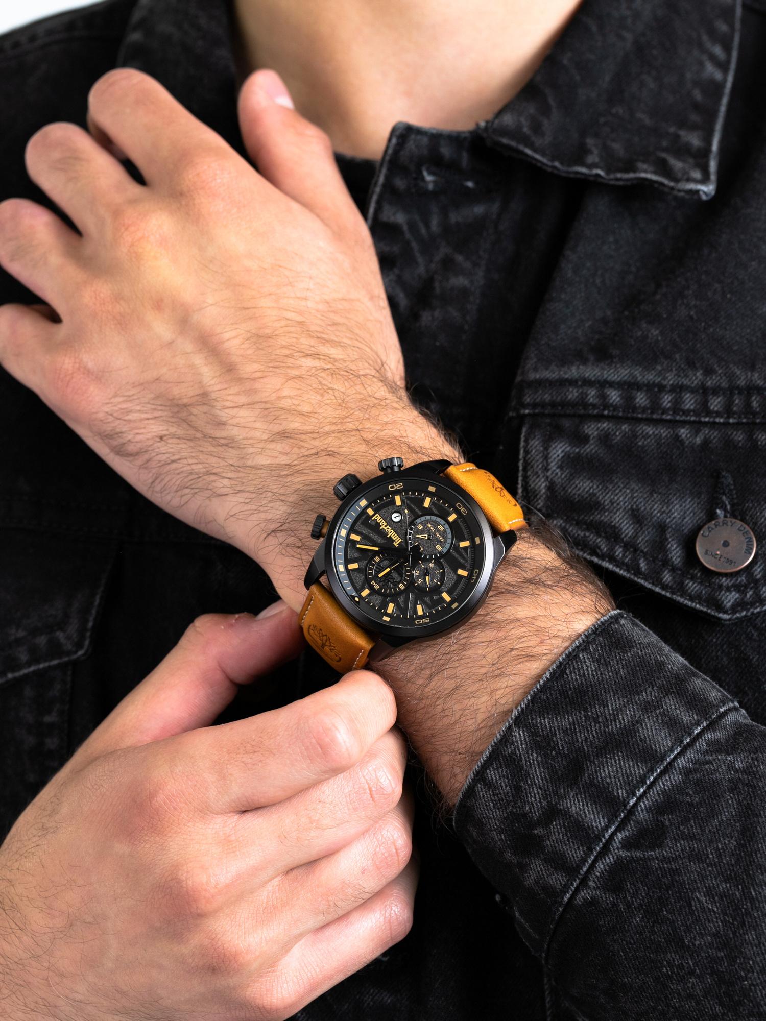 Timberland TBL.14816JLB-02 męski zegarek Henniker pasek