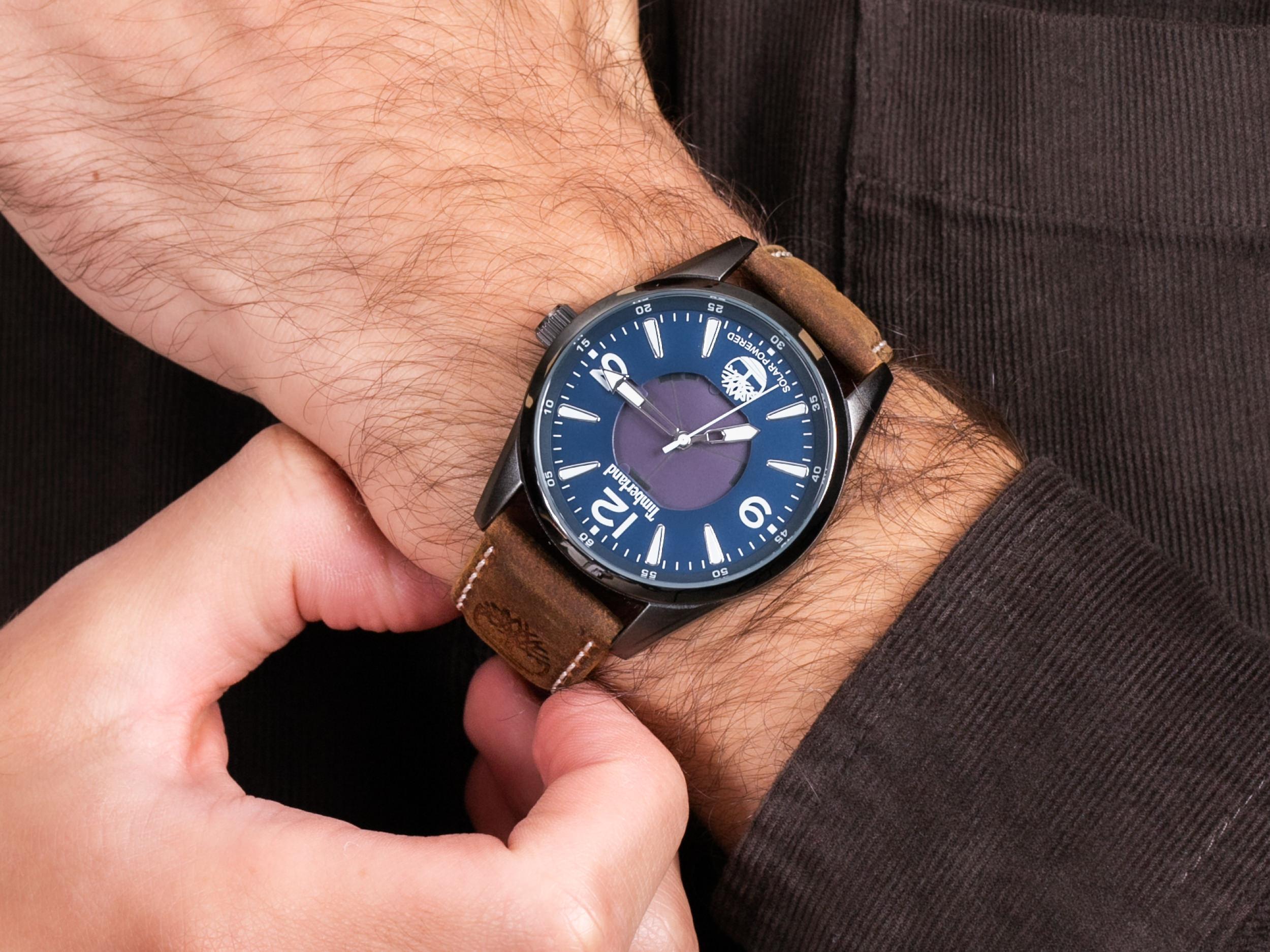 Timberland TBL.16004JYU-03 ROCKBRIDGE SOLAR zegarek klasyczny Rockbridge