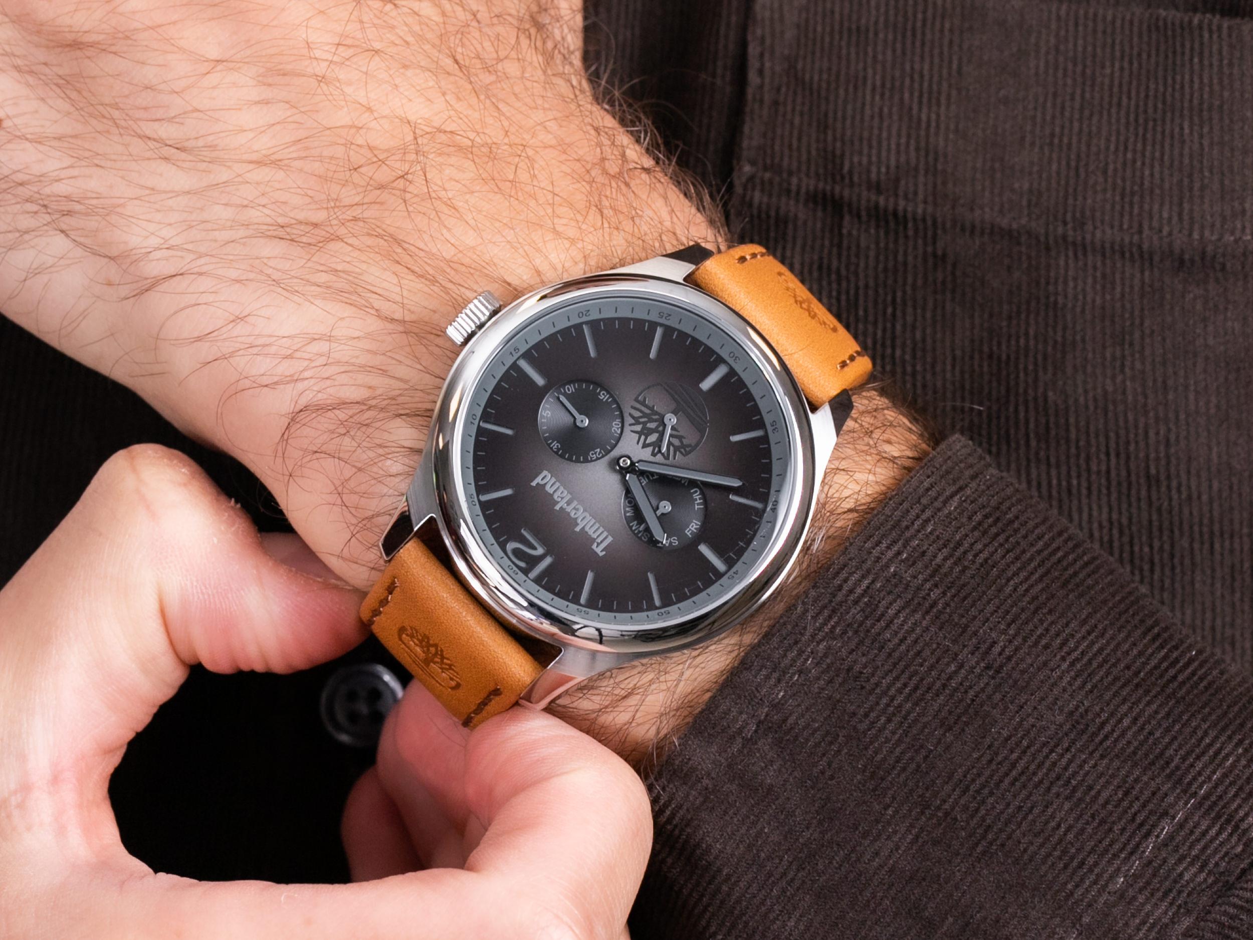 Timberland TBL.15940JS-13 SAUGUS zegarek klasyczny Saugus