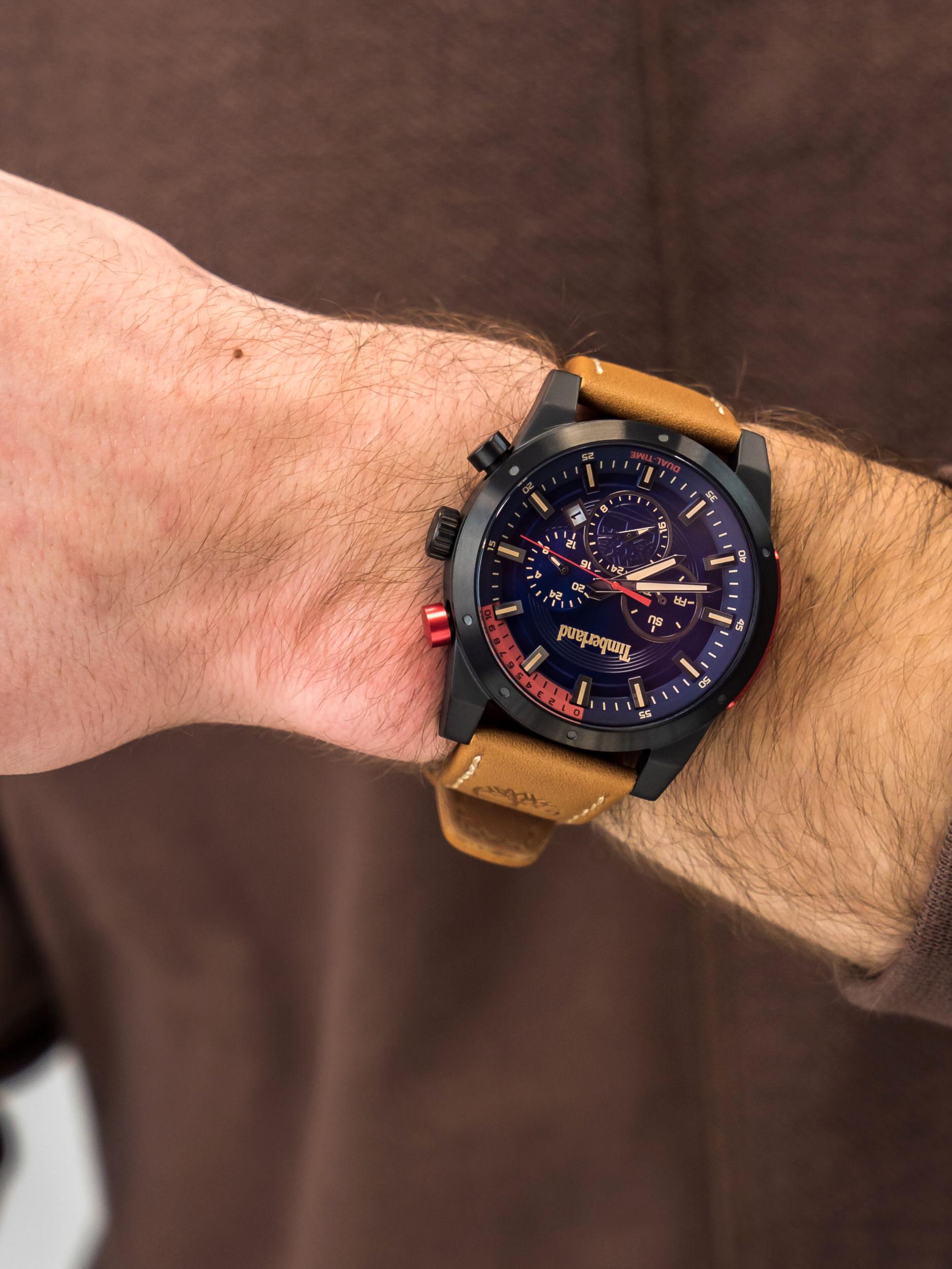 Timberland TBL.15951JSB-03 męski zegarek Sherbrook pasek