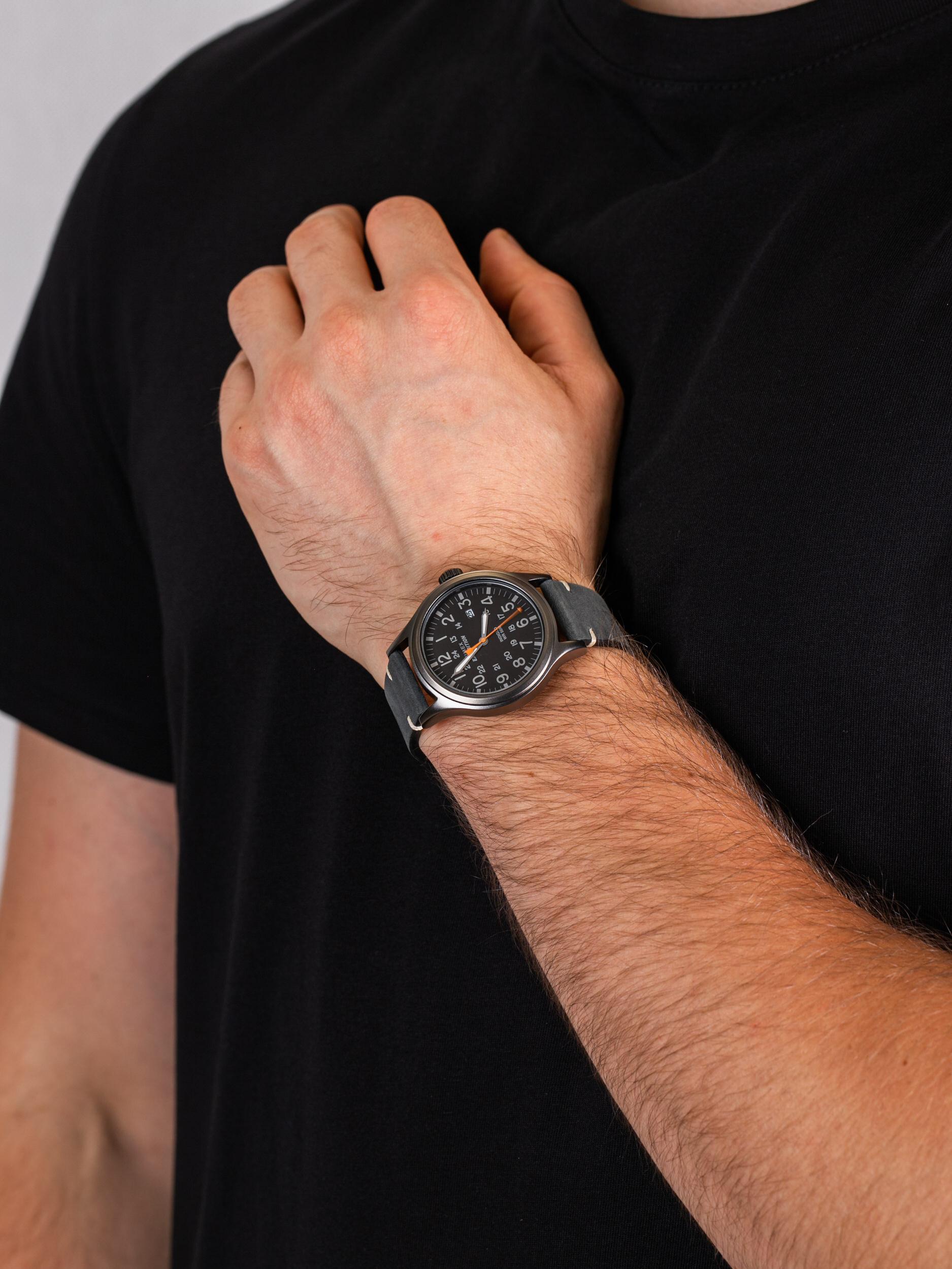 Timex TW4B01900 męski zegarek Expedition pasek