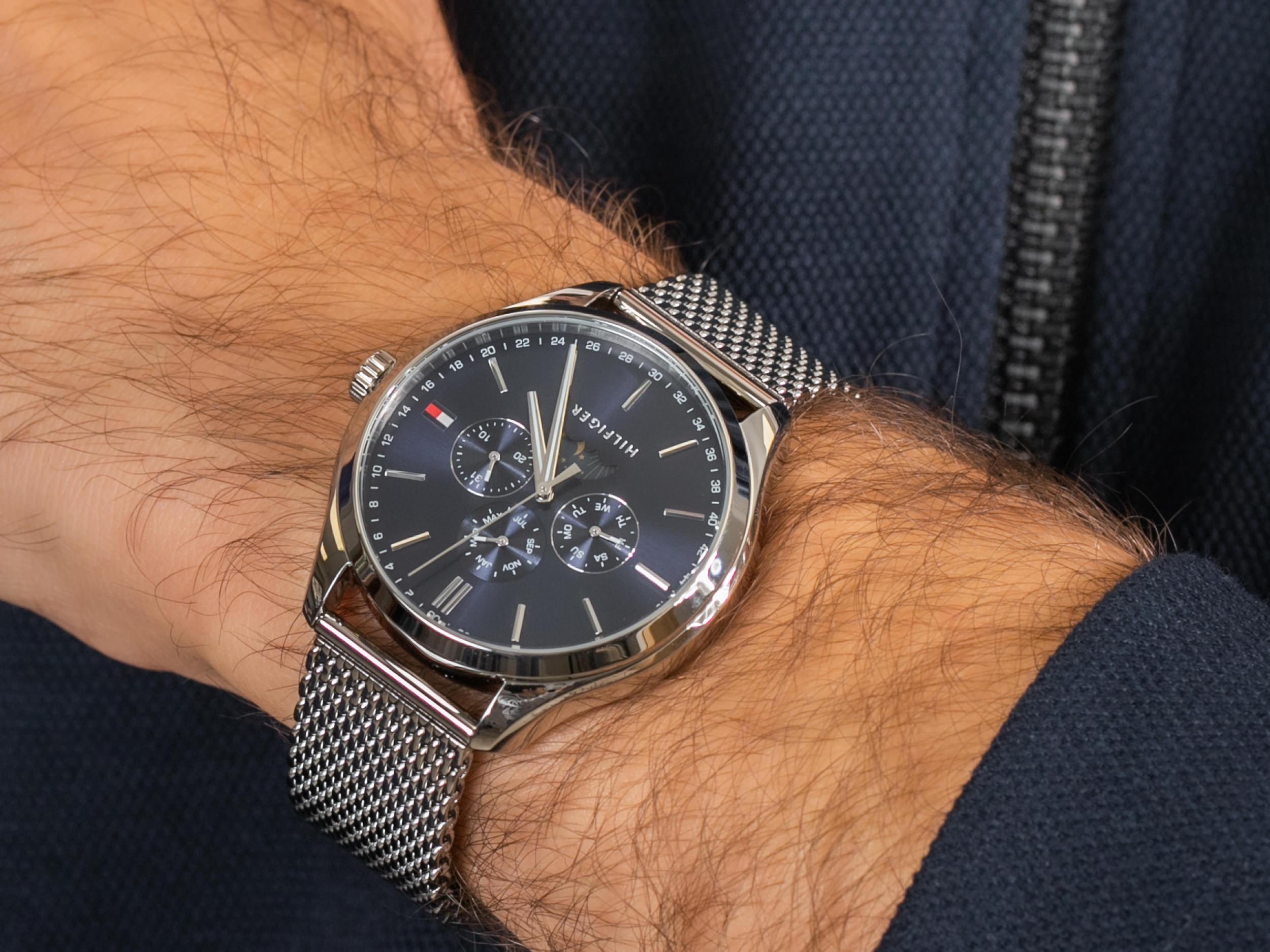 Tommy Hilfiger 1791302 zegarek fashion/modowy Męskie