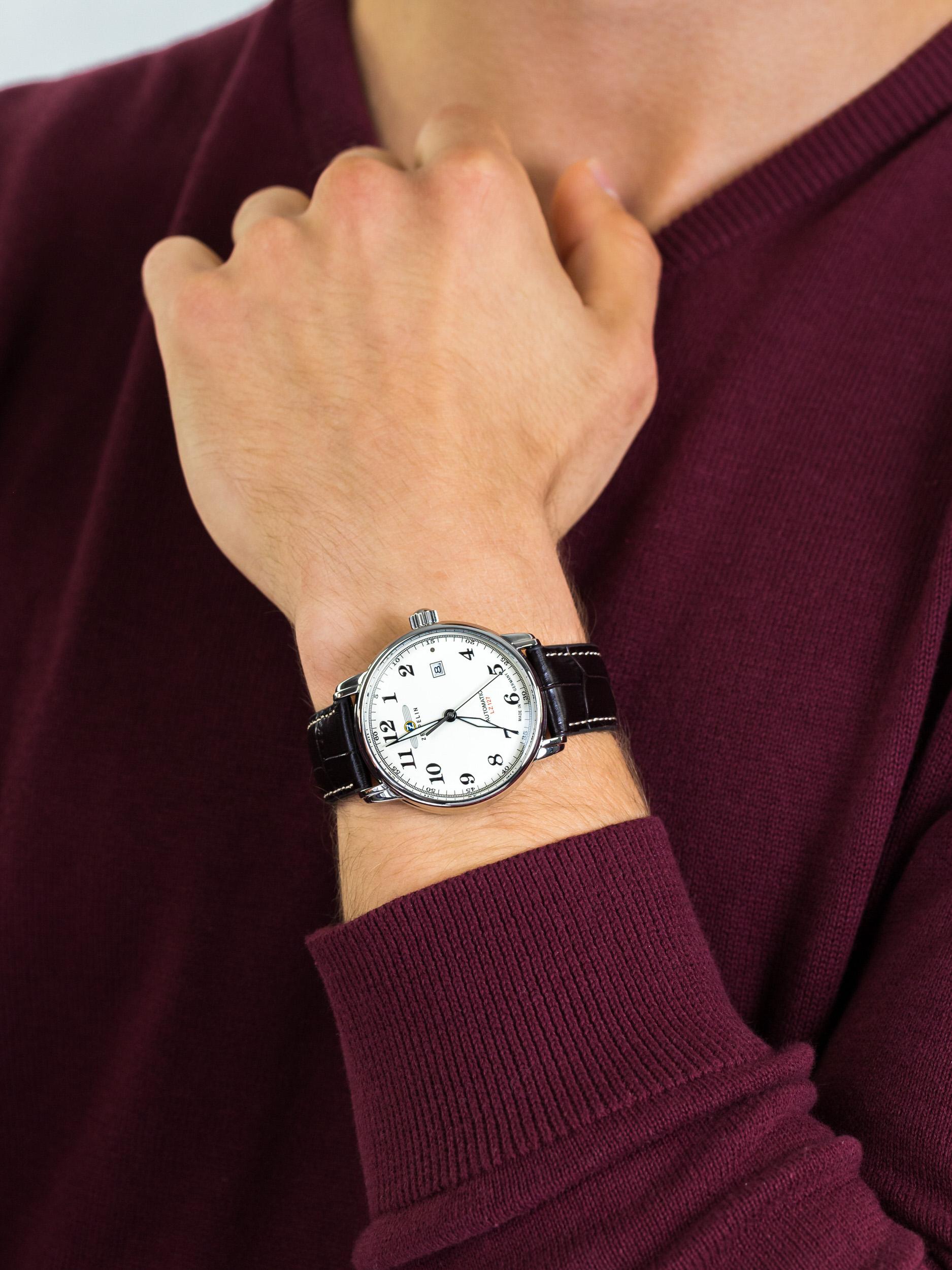 Zeppelin 7656-5 męski zegarek Count pasek