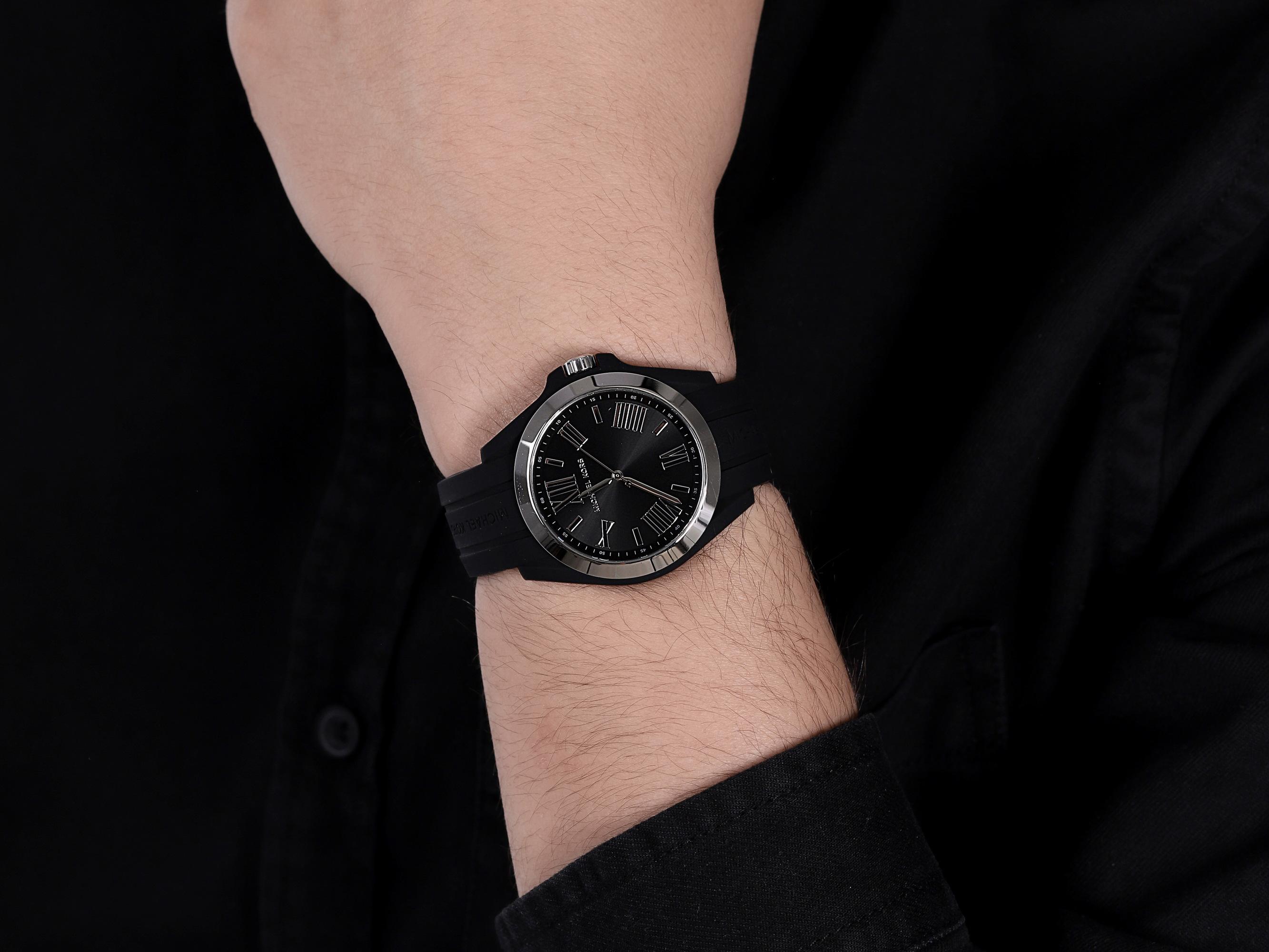 Michael Kors MK2729 męski zegarek Bradshaw pasek