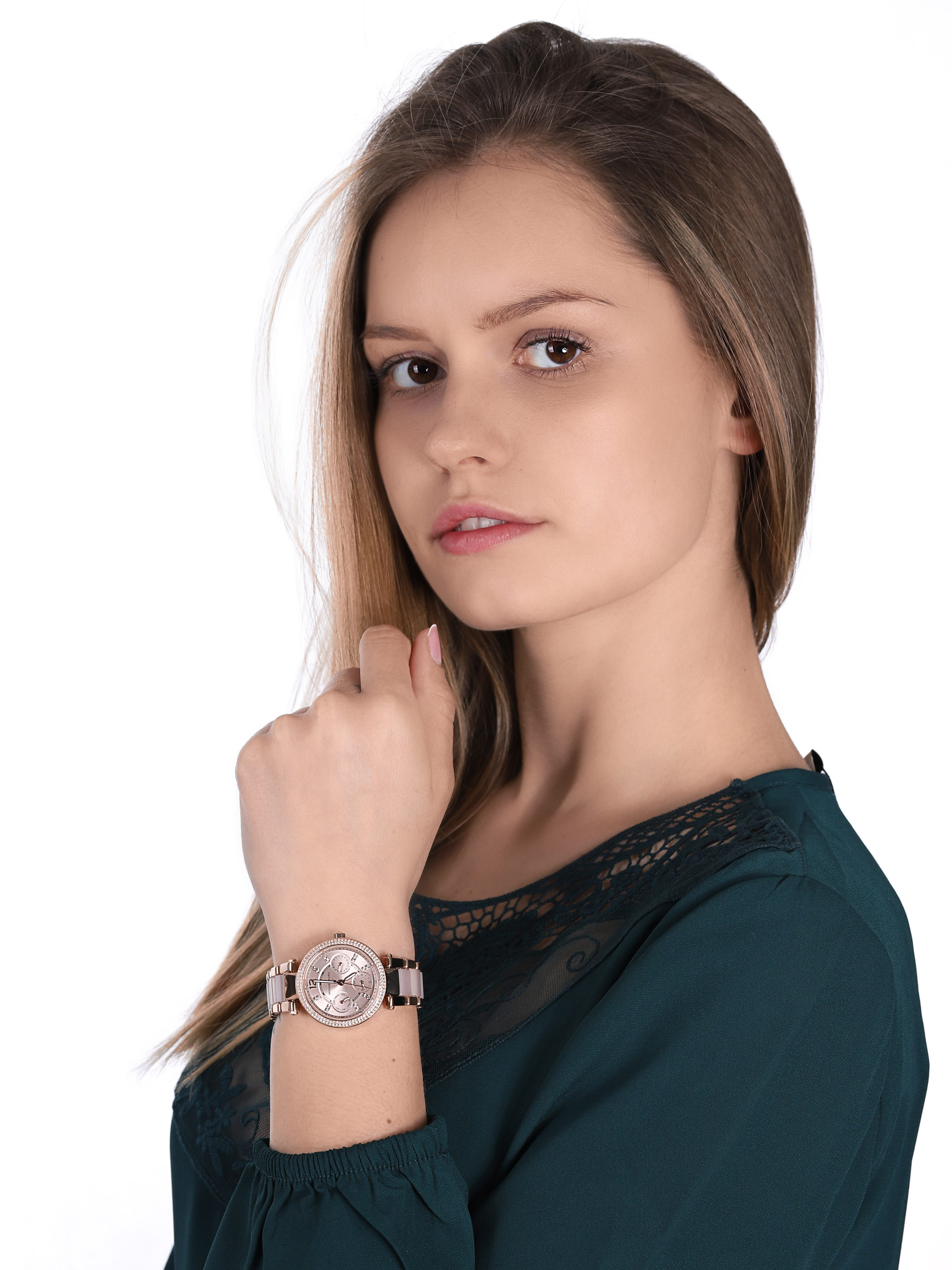 Michael Kors MK6110 Parker MINI PARKER zegarek damski fashion/modowy mineralne